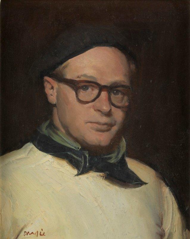 self portrait - william dargie, late 1930s