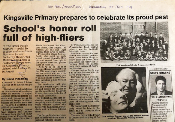 article about the 75th anniversary