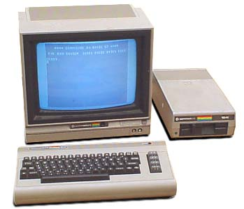 Commodore computer from the 1980s