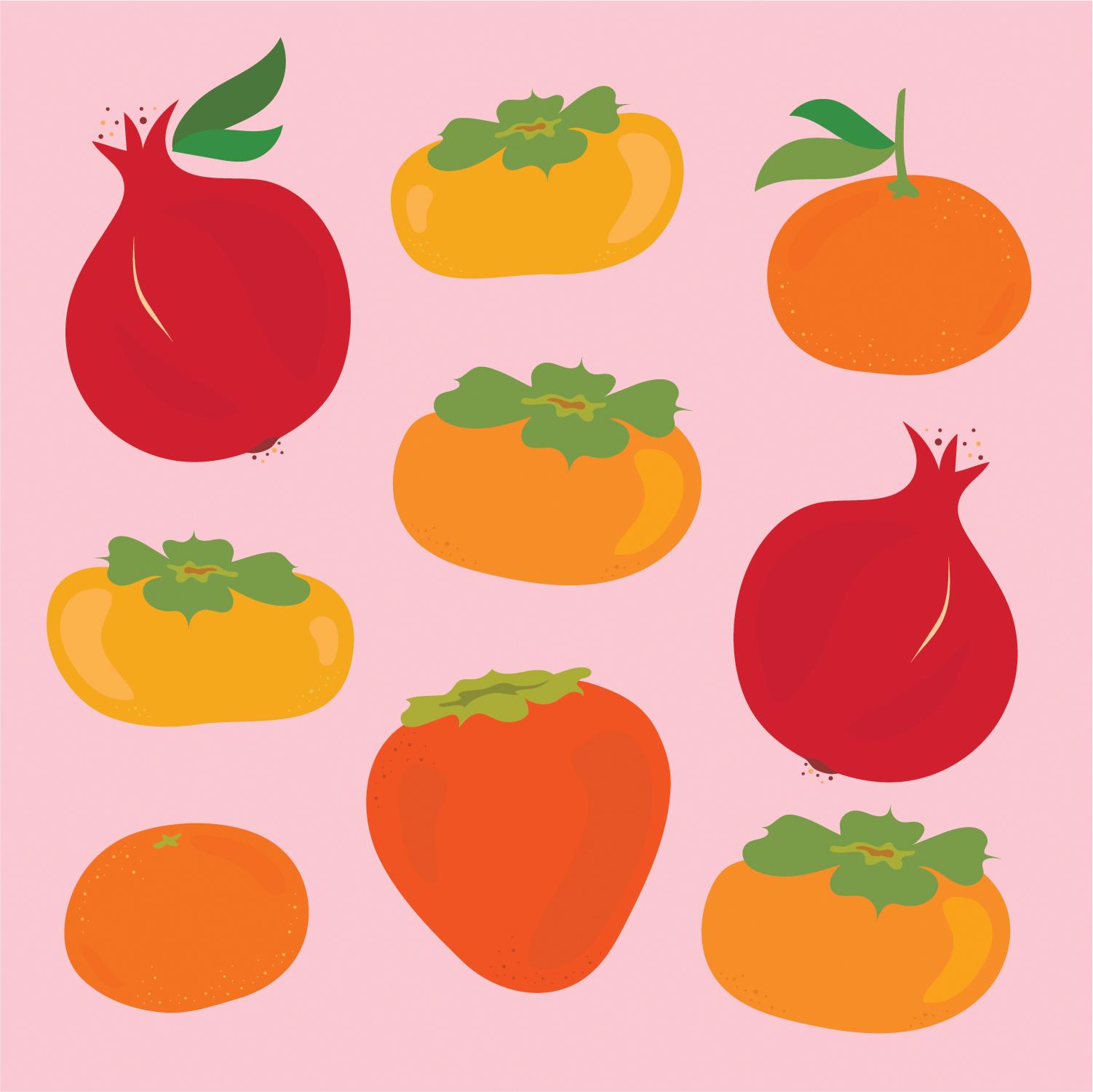 Illustration   for Bi-Rite Market's Winter Produce Promo