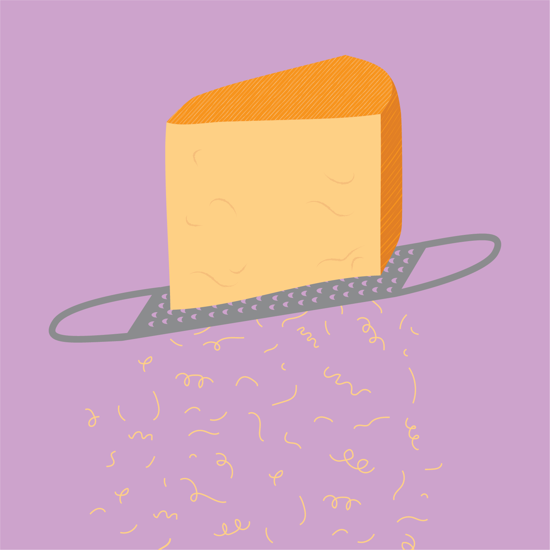 Illustration   for Bi-Rite Market's Cheese Department