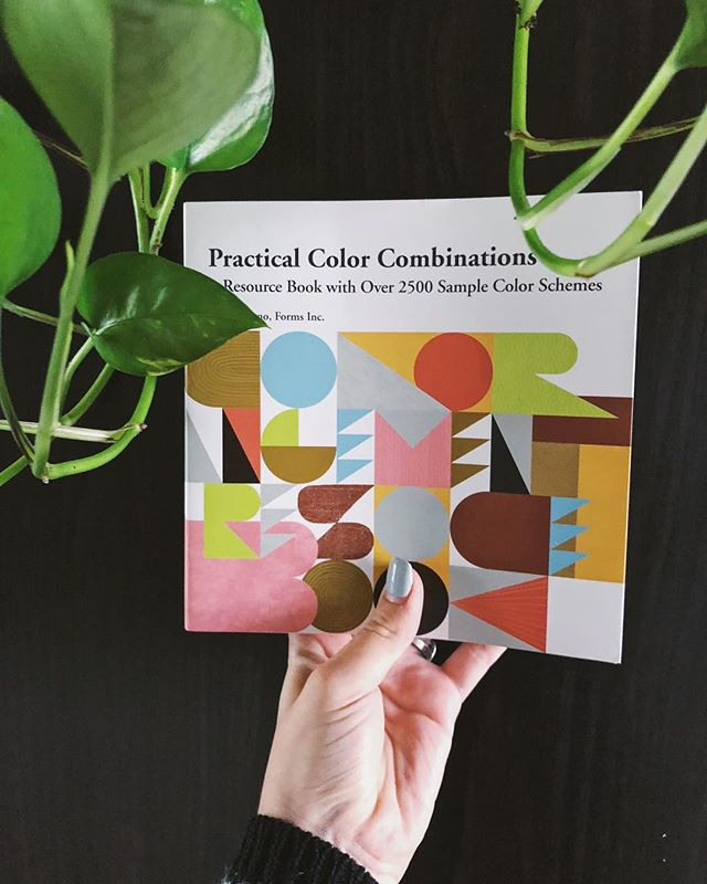 Every creative person that considers themselves as an artist of any type, should have this book! It's genius! Every color combo you can imagine!