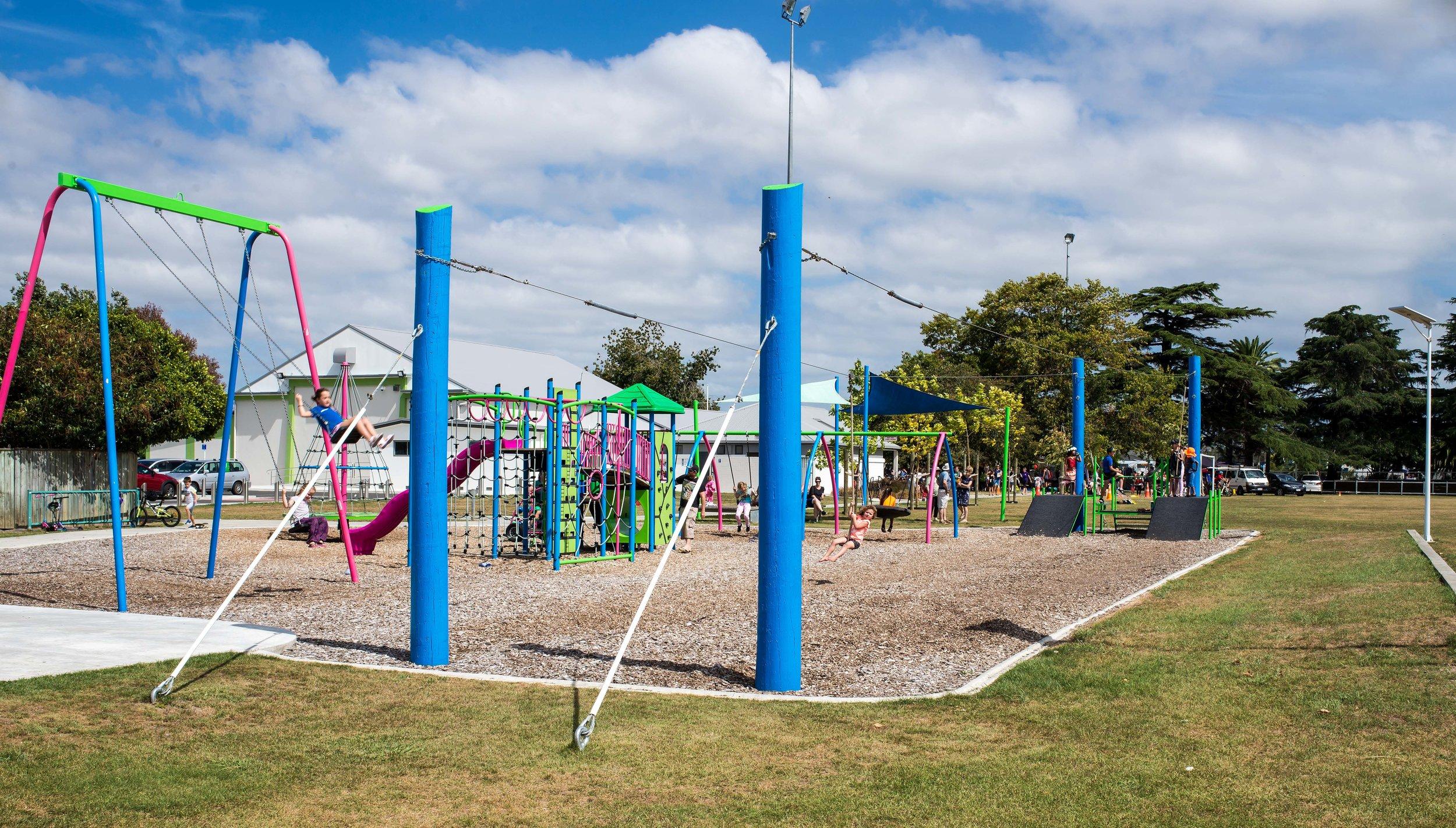 Russell Park Playground