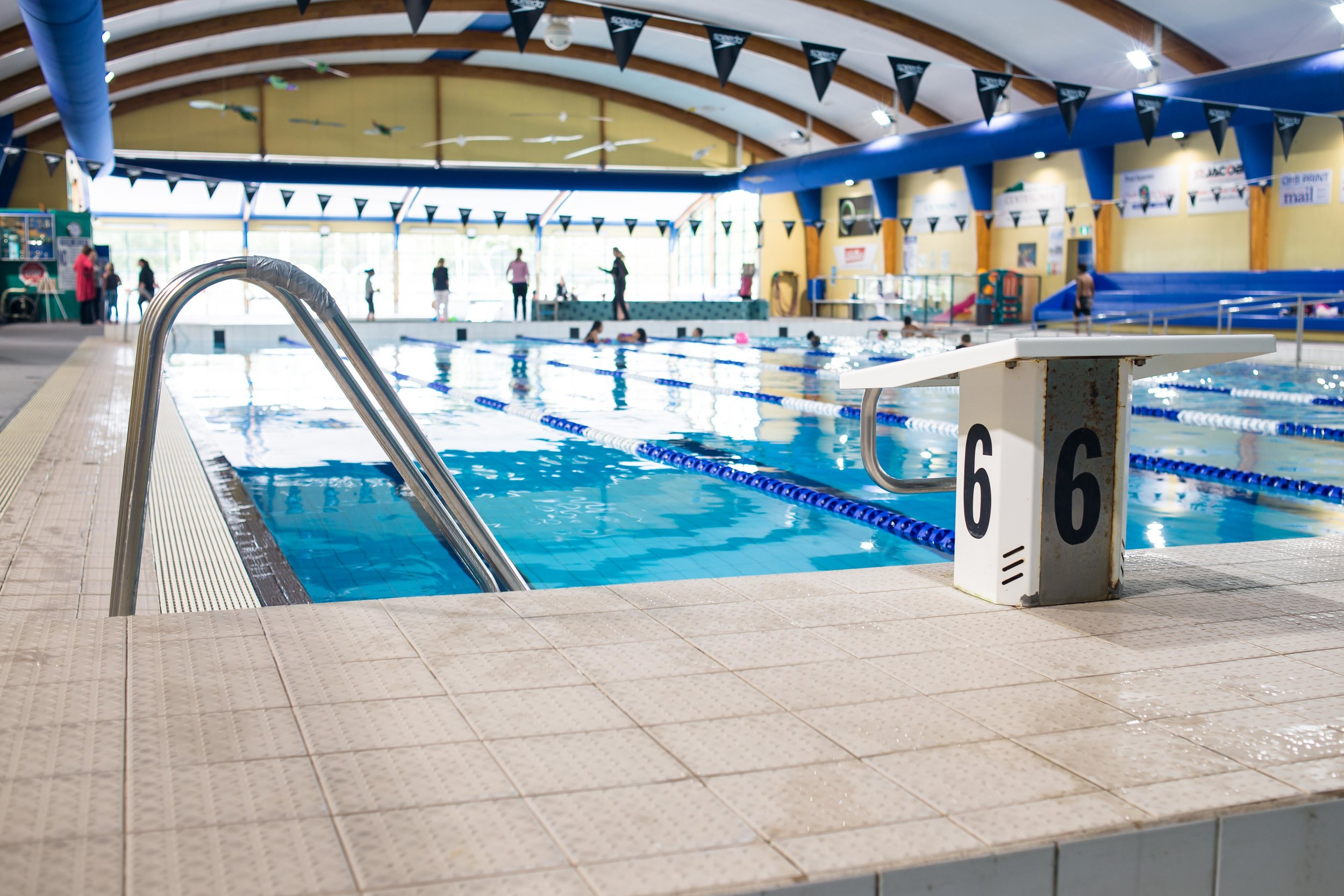 A W Parsons Heated Swimming Pool