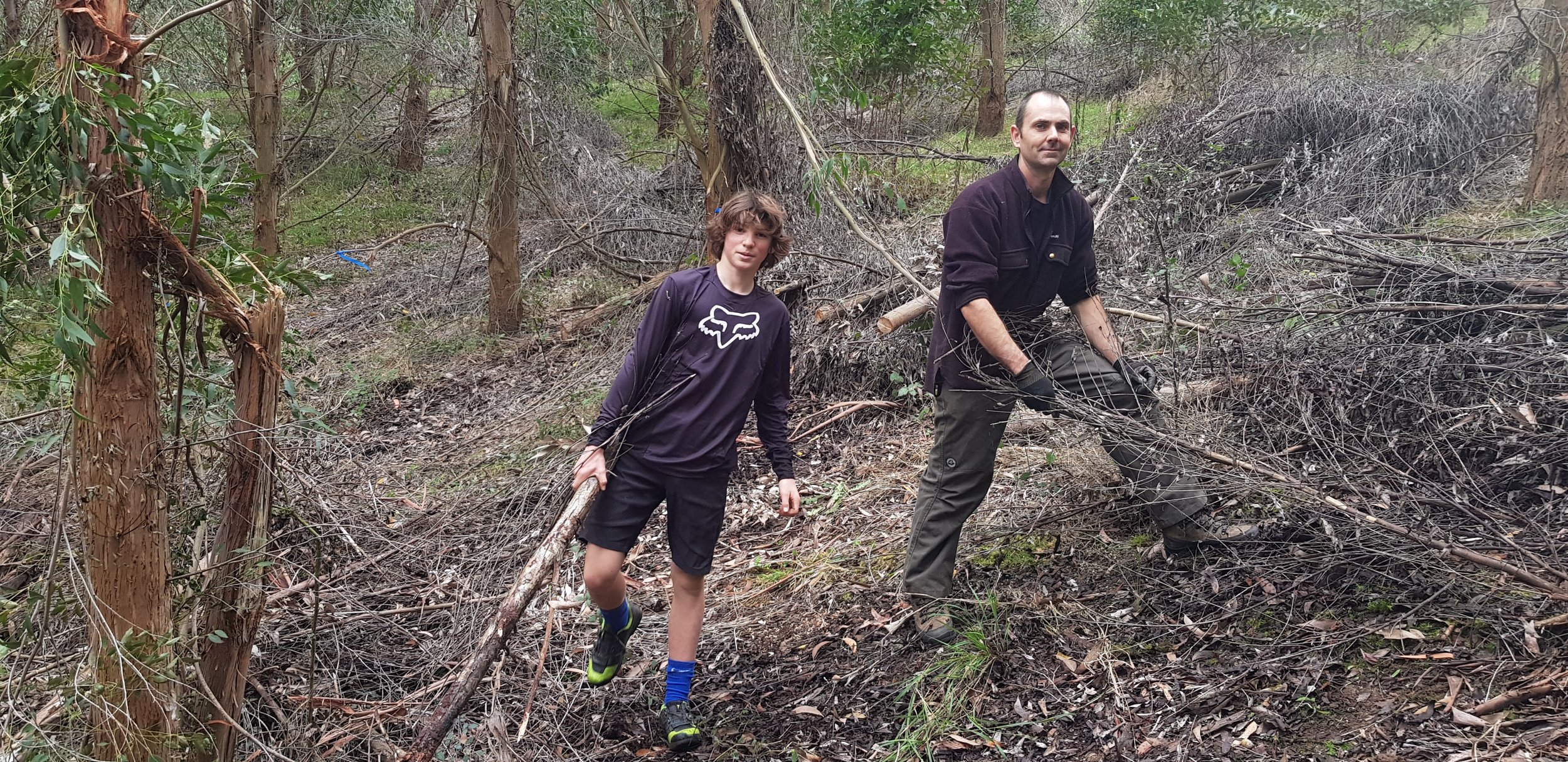 New trails at Gum Tree Mountain Bike park