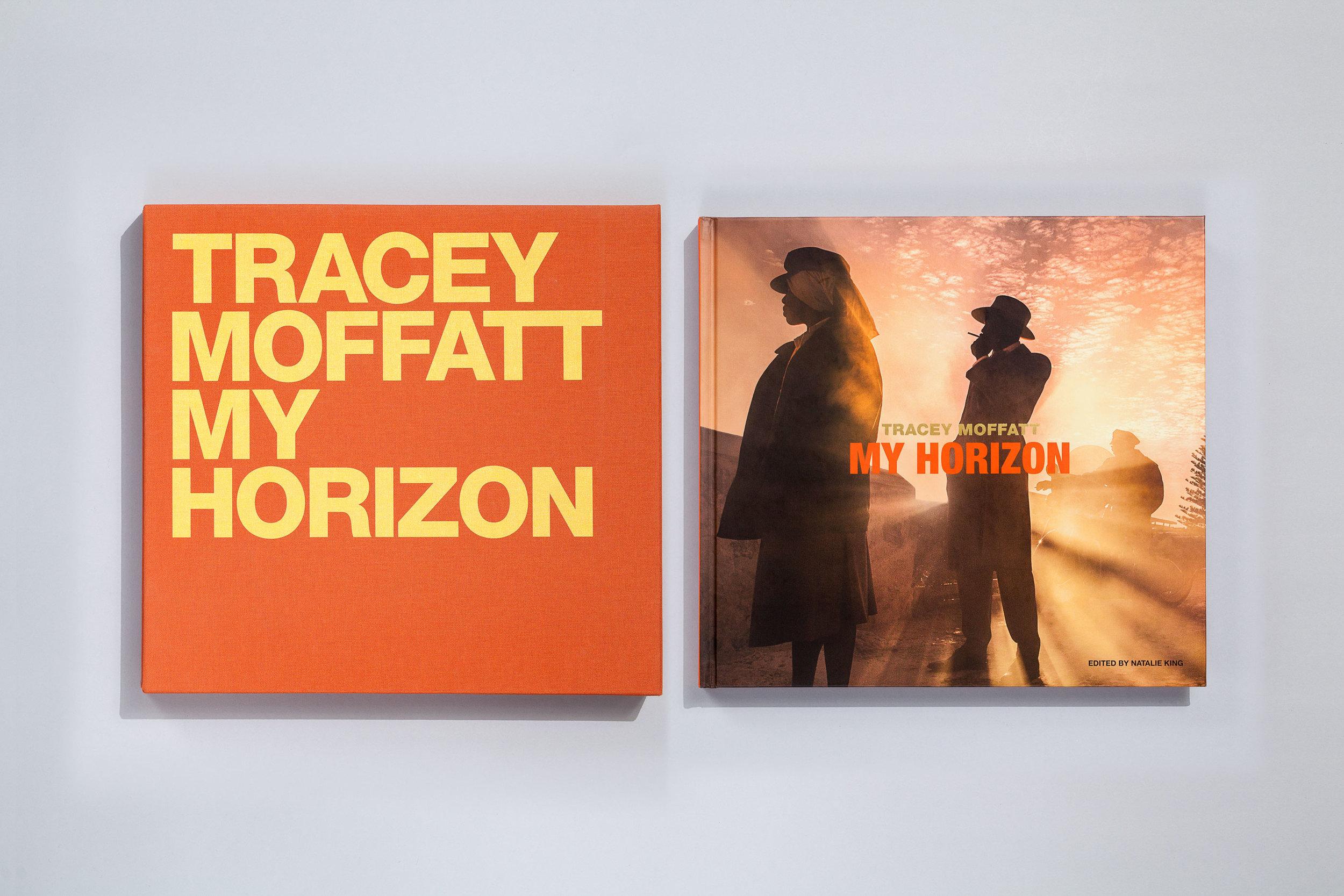 Title – Tracey Moffatt: My Horizon Artist – Tracey Moffatt Editor – Natalie King Designers – Daniel New & Evi O / OetomoNew Publisher – Thames & Hudson