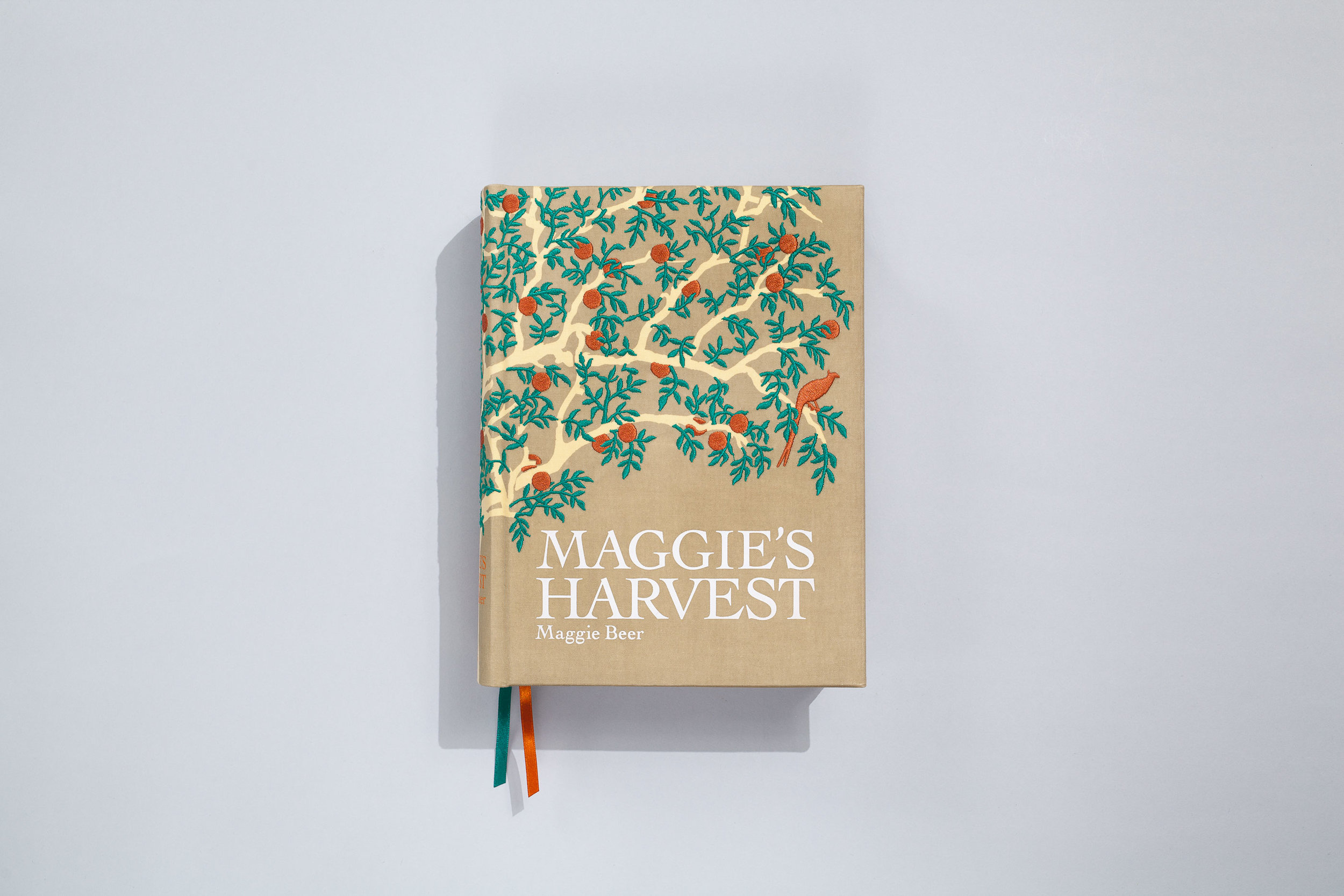 Title – Maggie's Harvest Author – Maggie Beer Designer/Illustrator – Daniel New Photographer – Mark Chew Publisher – Lantern, Penguin Books  2007 APA Design Awards  +  Best Designed General Illustrated Book 2007 Gourmand World Cookbook Awards  +  Best Cookbook  +  Best Cookbook Cover 2007 Kinokuniya Book Awards  +  Best Cookbook of the Year 2008 Australian Book Industry Awards  +  Best Illustrated Book