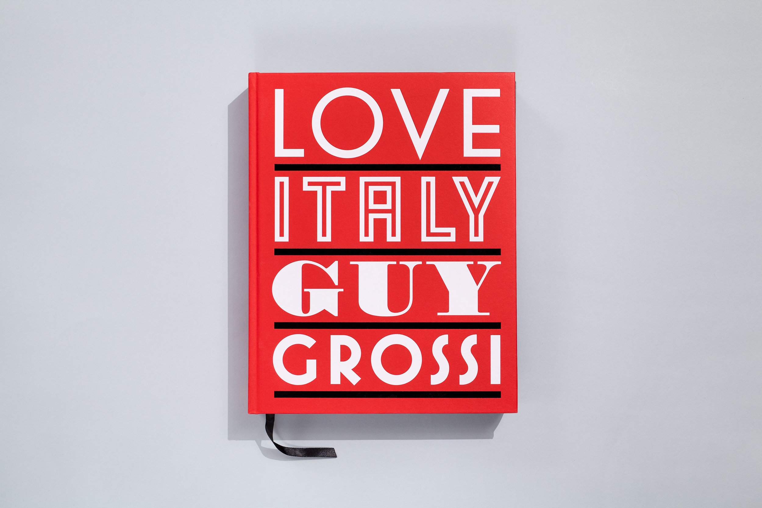 Title – Love Italy Author – Guy Grossi Designer/Illustrator – Daniel New Photographer – Mark Chew Stylist – Indianna Foord Publisher – Lantern, Penguin Books  2014 Australian Book Design Awards + Book of the Year + Best Designed Cookbook 2014 Gourmand World Cookbook Awards + Winner Cookbook of the Year (Australia) + Short-listed Best in the world Cookbook of the Year