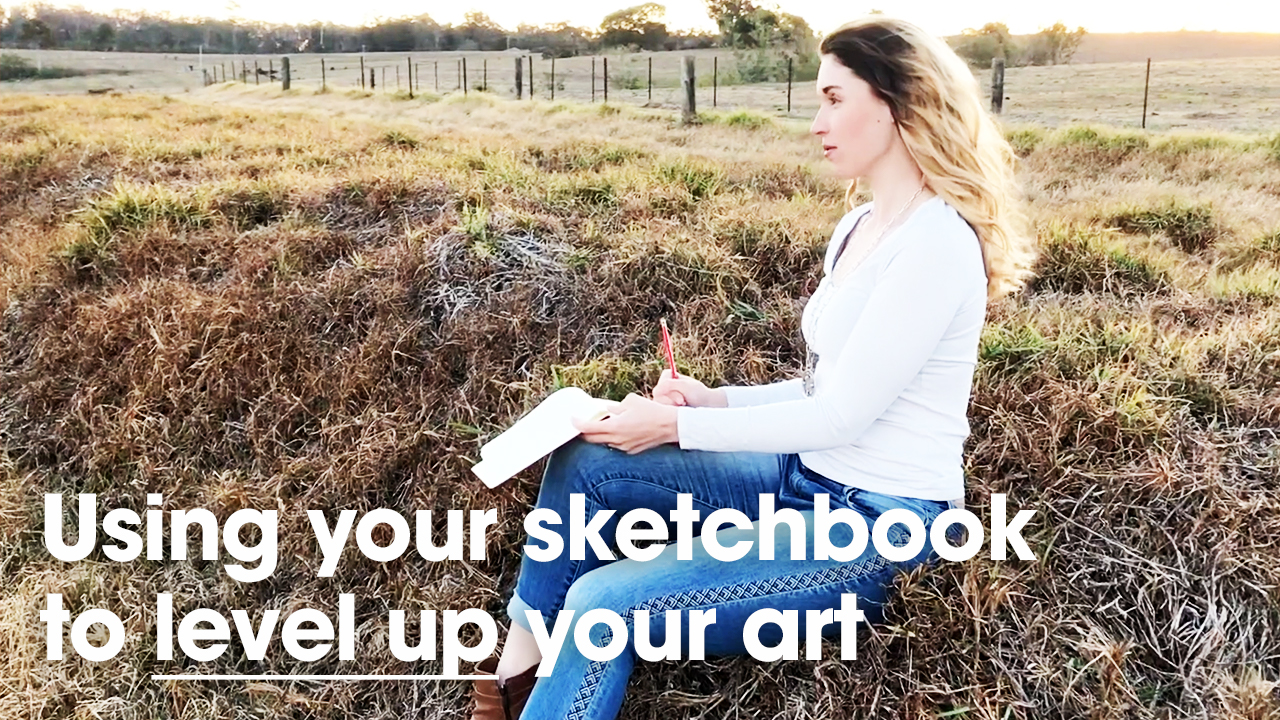Using a sketchbook to level up your art