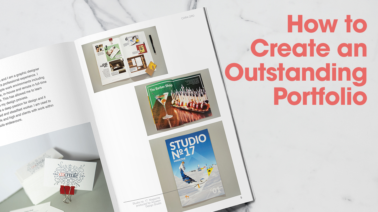 Create a portfolio that gets you hired