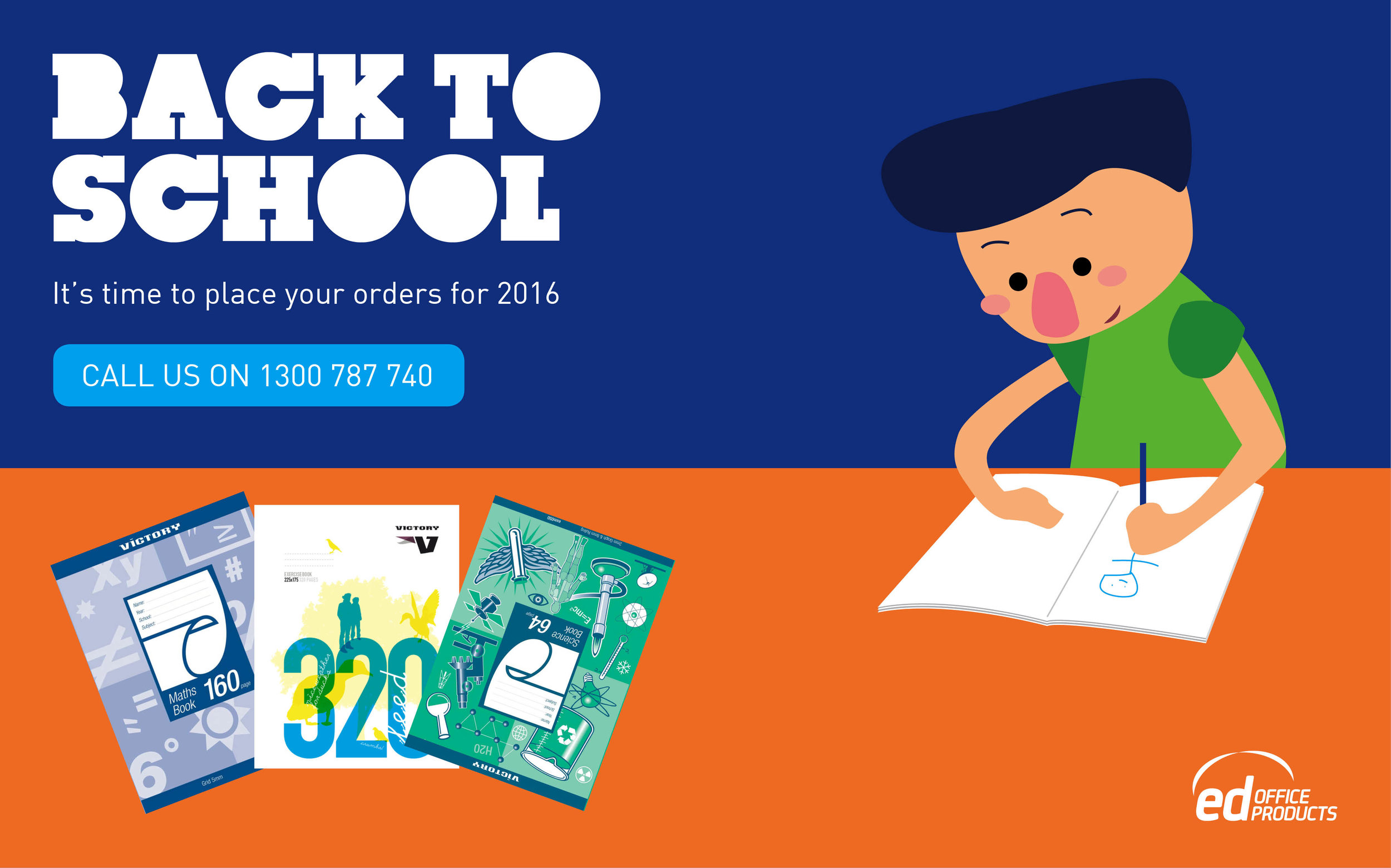 Email Marketing Design - Back to school