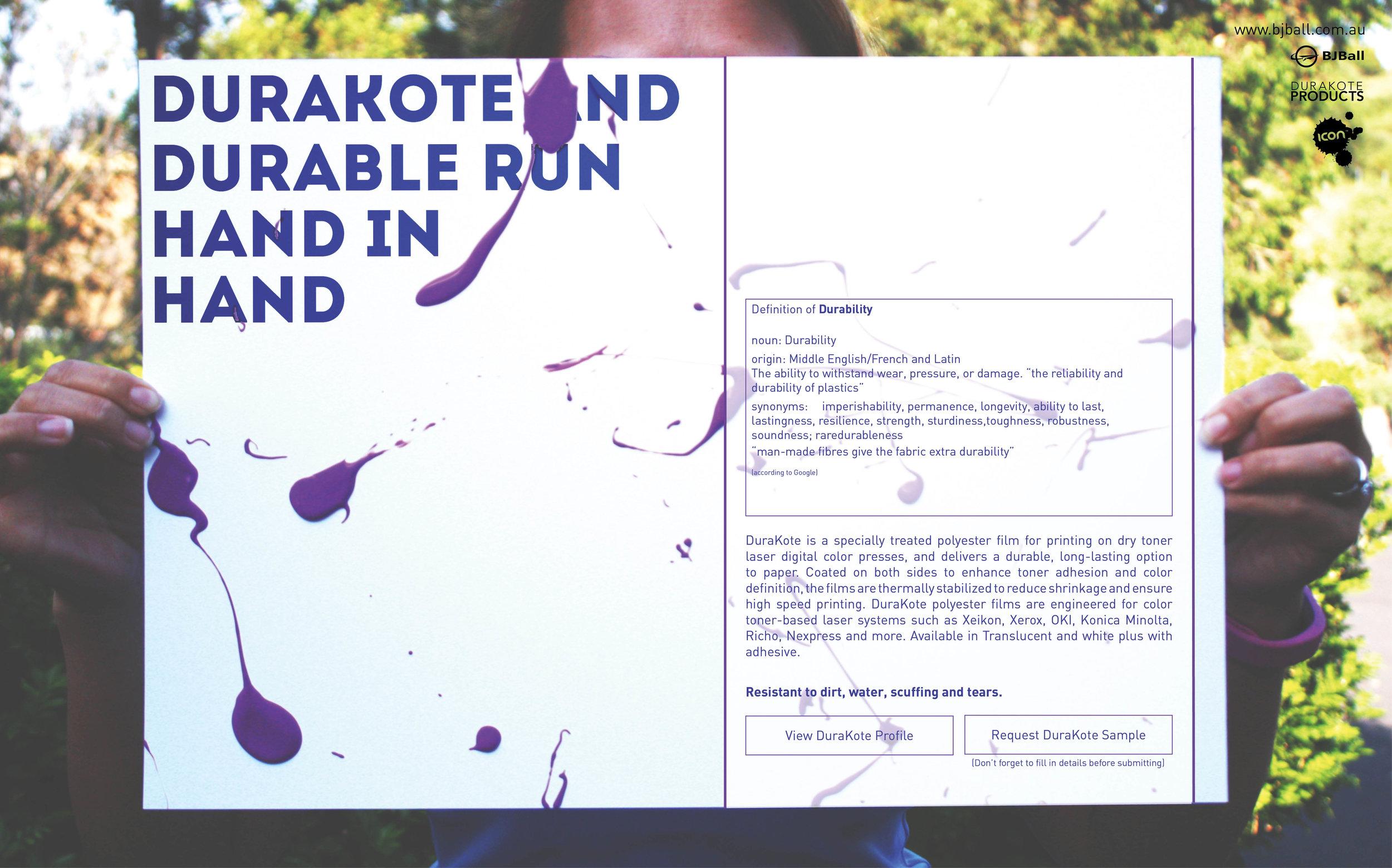 Email Marketing Design - Durakote