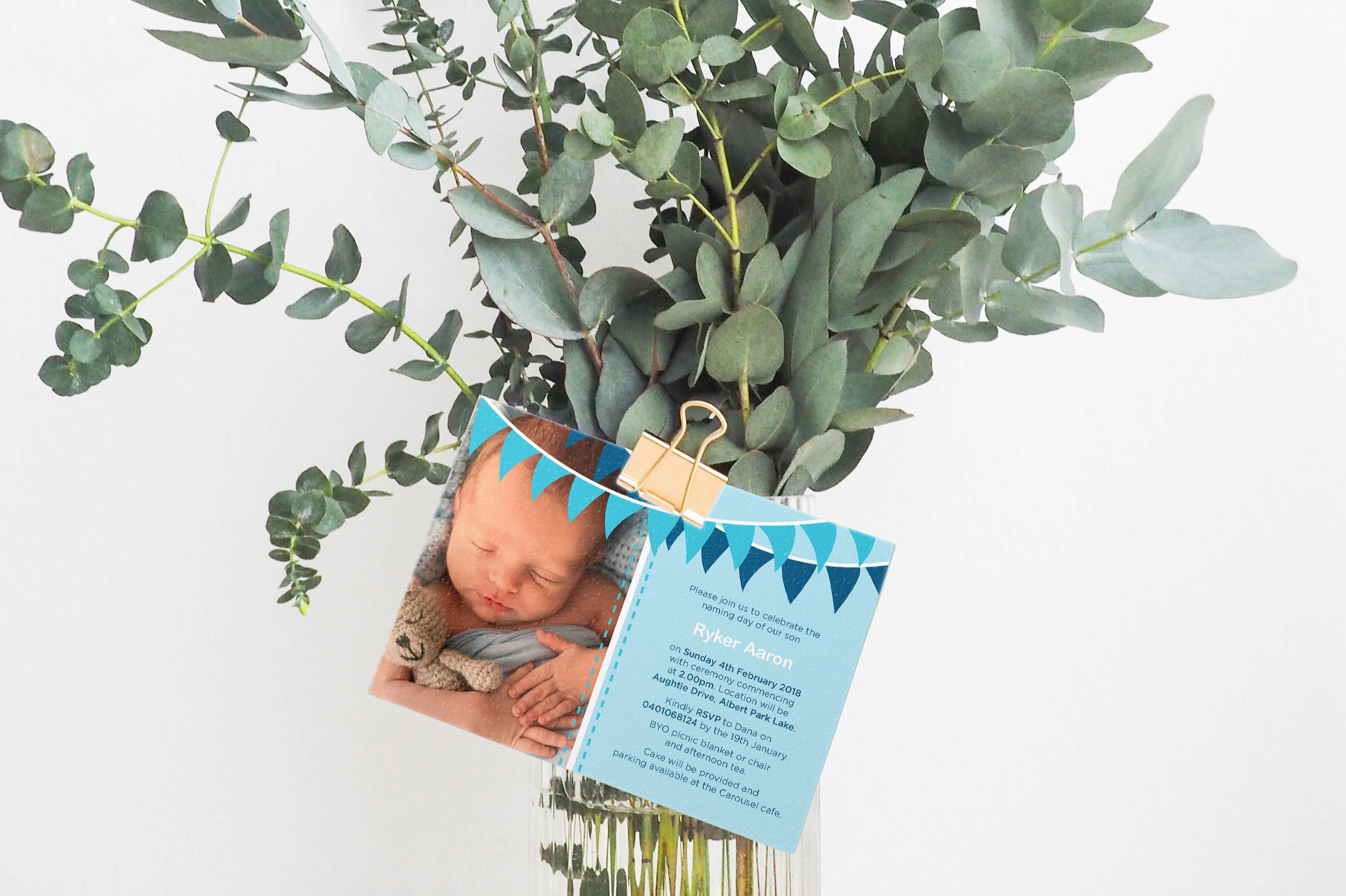 Invitation – Baby dedication