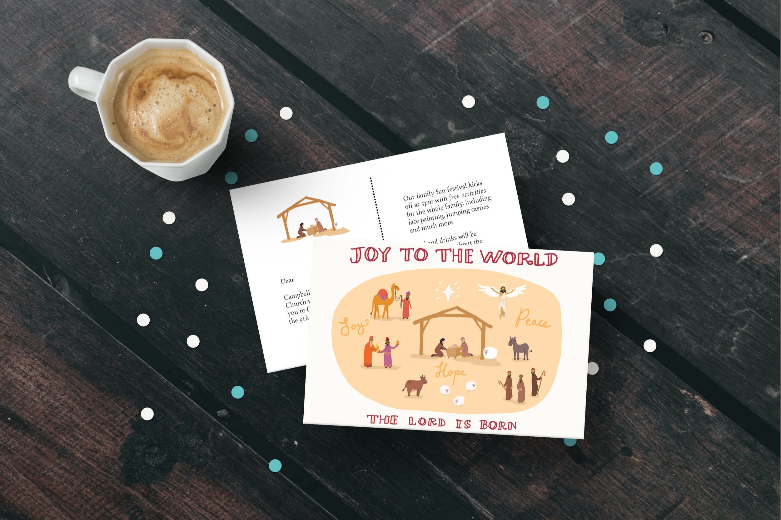 Postcard – Carols in the park
