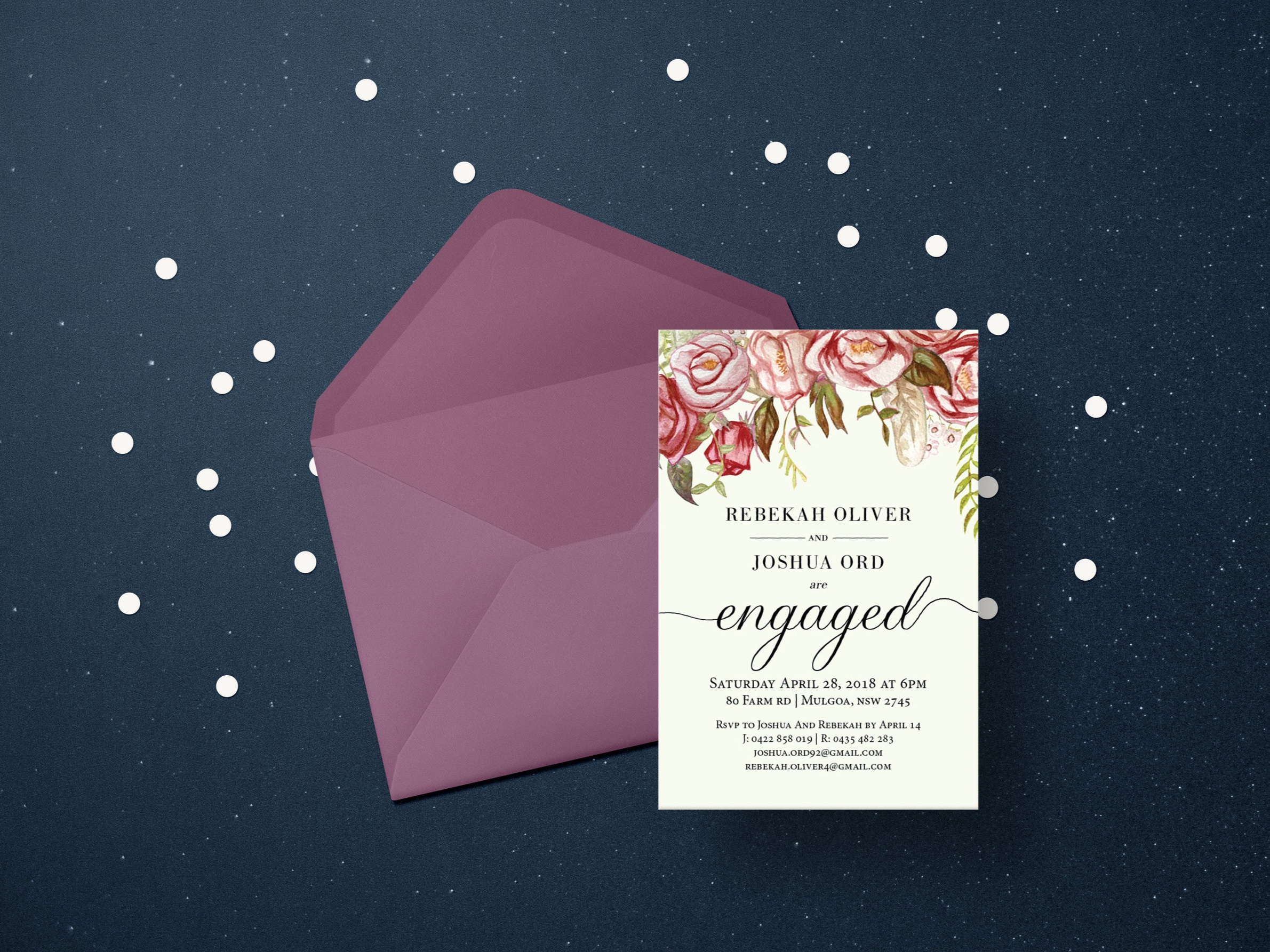 Stationary for Weddings and Events
