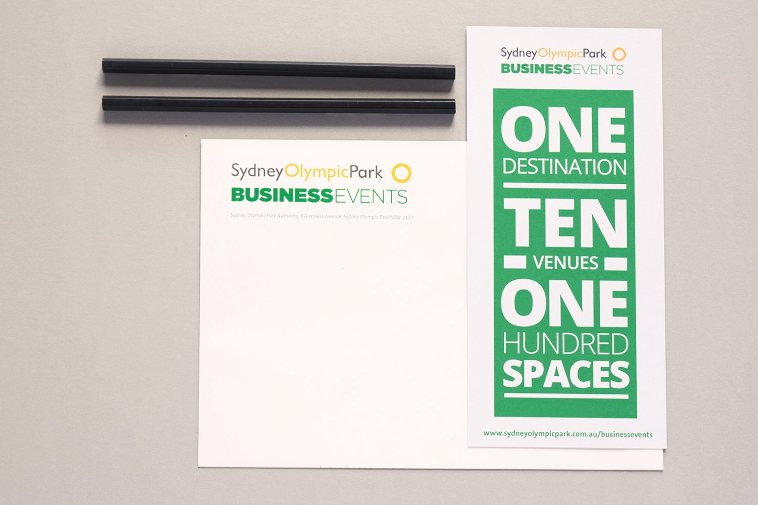 Corporate stationary – Business Events