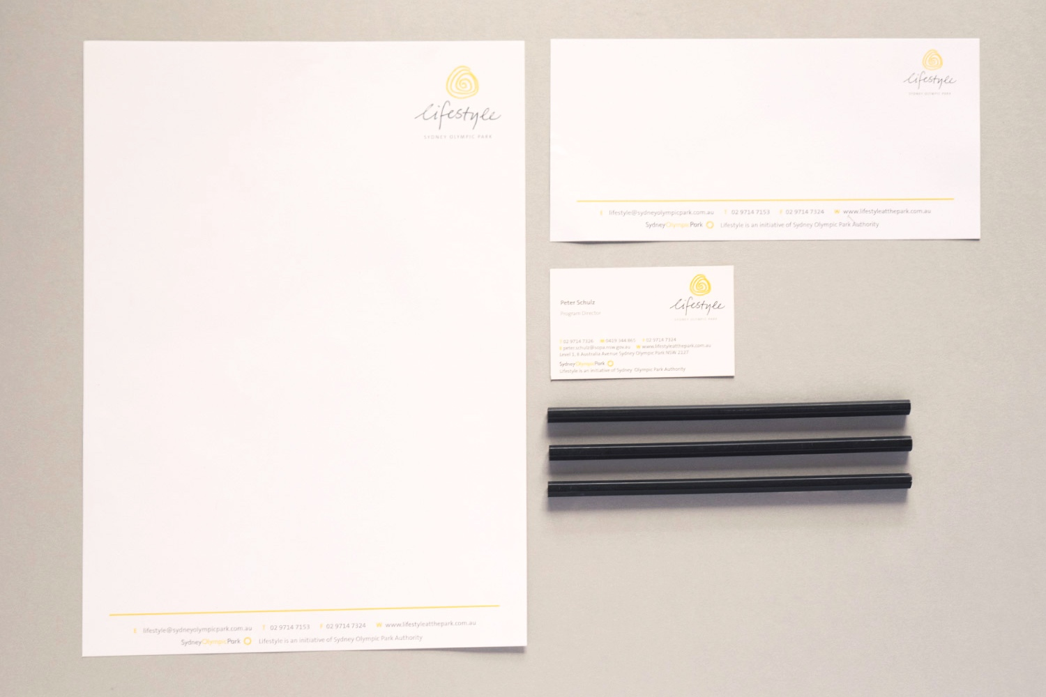 Corporate stationary – Lifestyle