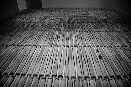 """Baseball Bats, MoMA 2, New York""  by  Rod Waddington  is licensed under  CC BY-SA 2.0"