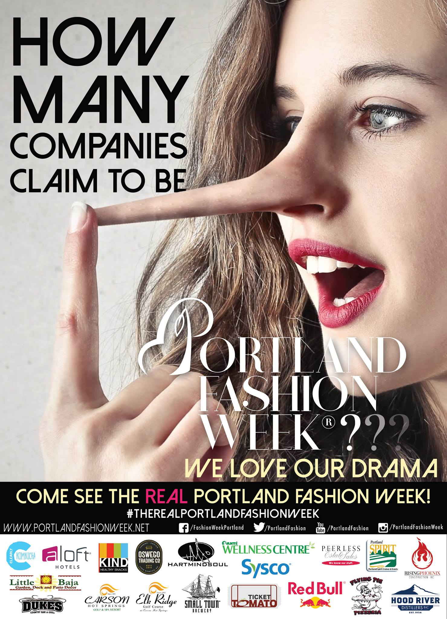 "If the company doesn't say Portland Fashion Week..... - Anyone can claim laurels in private or drag TIME Magazine articles around, but if you are not dealing with PFW LLC then you are NOT dealing with #THEREALPORTLANDFASHIONWEEK.Beware as we have imitators in the form of disgraced ejected ex-producer Prasenjit ""Tito"" Chowdhury of Fashionxt and Fashionxt producers claiming our glory, the Portland Fashion Week name, our TIME Magazine article and deliberately muddying waters. We ask anyone who is approached by ''Portland Fashion Week'' under the Fashionxt guise to please contact us. All communication will be held with the strictest confidentiality.PFW LLC the REAL Portland Fashion Week- Active since 2002."