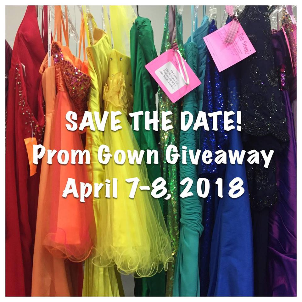 Can you help? - Each spring, Abby's Closet hosts a Prom Gown Giveaway event to distribute the dresses, shoes and accessories that have been collected throughout the year. Abby's Closet will provide a free (that's right, FREE… save your money for college!) prom gown to any high school student who wants one. We are welcoming to people of different gender identities, abilities, sizes, and socioeconomic status. The goal of Abby's Closet is to make every young woman feel special, beautiful, empowered and confident. The only requirement is that attendees show a high school ID card or proof of enrollment in high school. For many of the students who attend our Giveaway, receiving a gown presents an opportunity to experience a once in a life time event they might otherwise not be able to participate in due to the expense of purchasing a dress. With over 6,000 dresses provided each year in every size and style – you won't want to miss it!If you know a high school aged female, tell them about our 14th annual Abby's Closet Prom Gown Giveaway event scheduled for:Saturday, April 7th, 8:00 am-4:00 pmSunday, April 8th, 10:00 am-2:00 pmOregon Convention Center, Portland, Oregon
