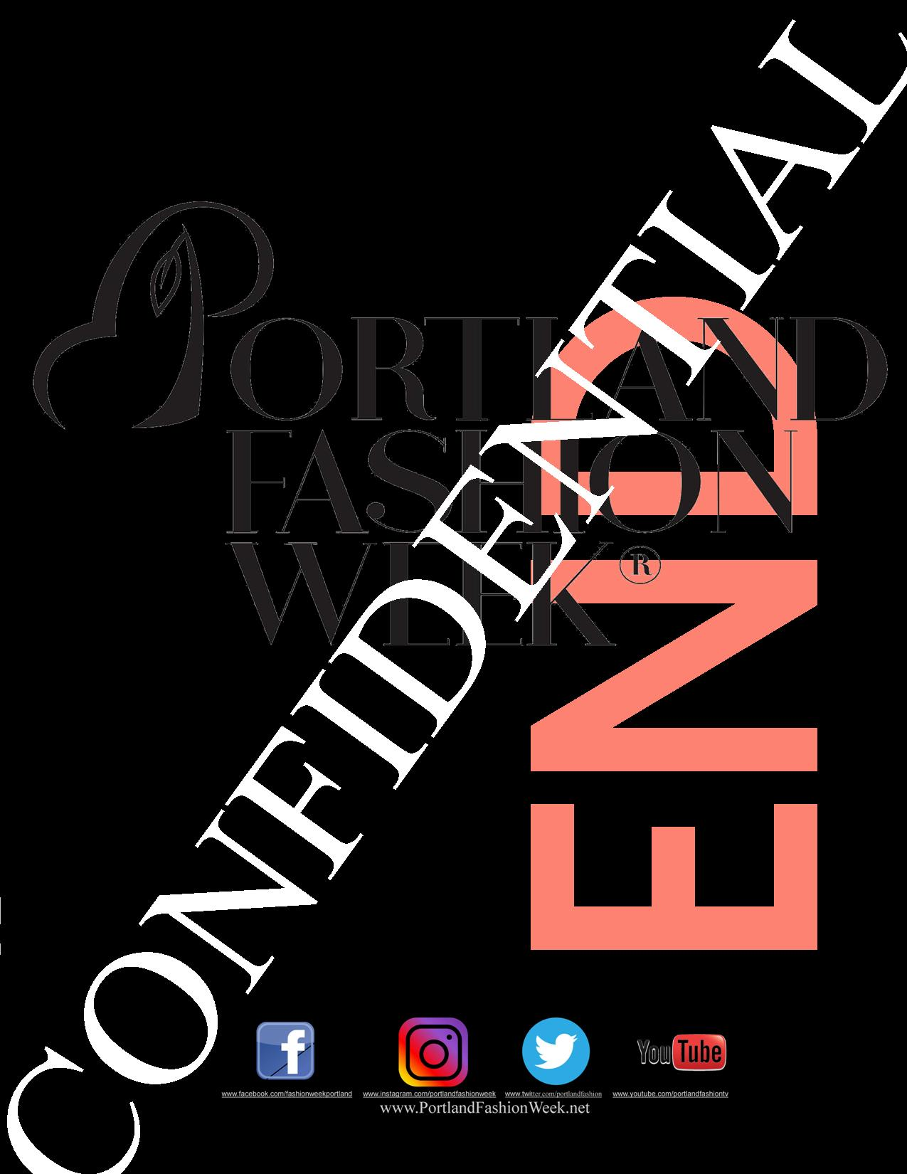 ANOTHER first for  Portland Fashion Week ! Four fabulous days of sales, styling, nightlife and fashion!