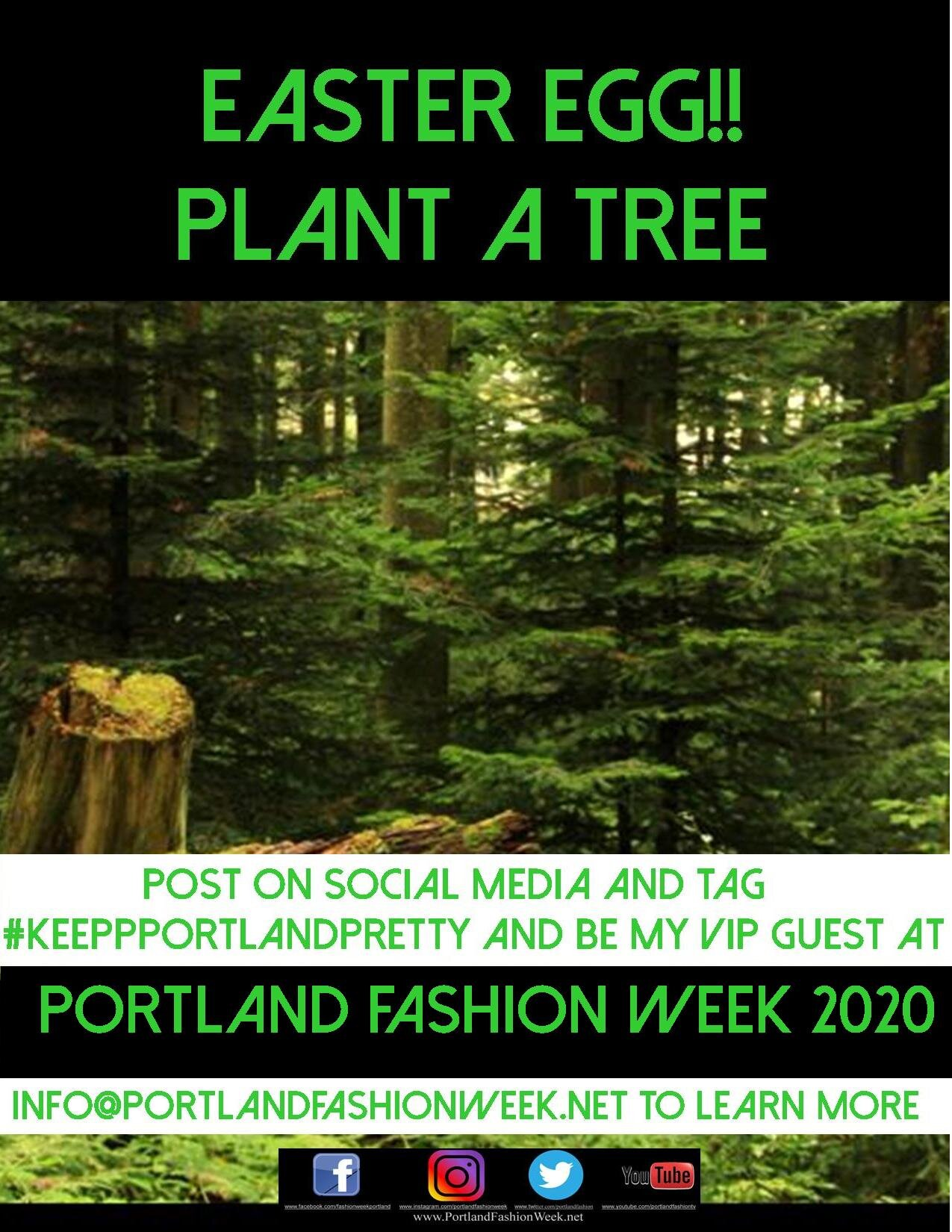 "Keep Portland Pretty! - Aside from our National Wildlife Federation Stewardship of the Cambridge Creek headwaters of the Johnson Creek watershed, Portland Fashion Week- the greenest and world's ONLY carbon negative fashion week is now one of the newest members of Portland's ""Green Street Stewardship Program"", where we are taking care of our adopted green street of NE Glisan along the south side of the Glendoveer Golf Course between NE 139 and NE 146!Look for litter patrols and invasion non native weed removal and replacement with beautiful food bearing plants to help our native birds and wildlife sustain themselves over the winters!https://www.portlandoregon.gov/bes/52501#EnglishVideo to learn more!"