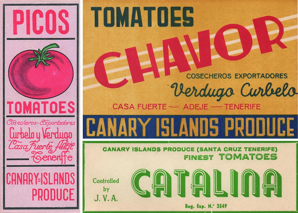 Etiquetas de los empaquetados de tomates ©CAFU