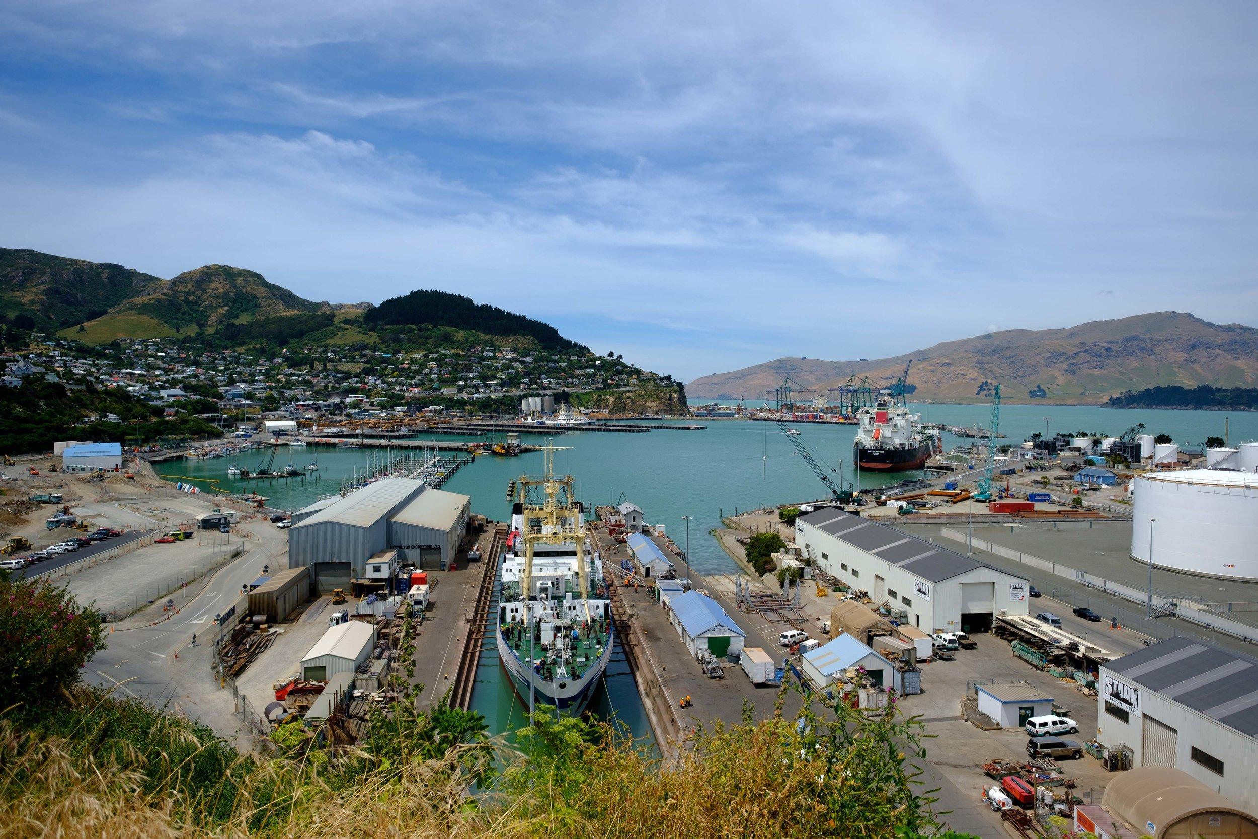 Lyttelton Christchurch Port