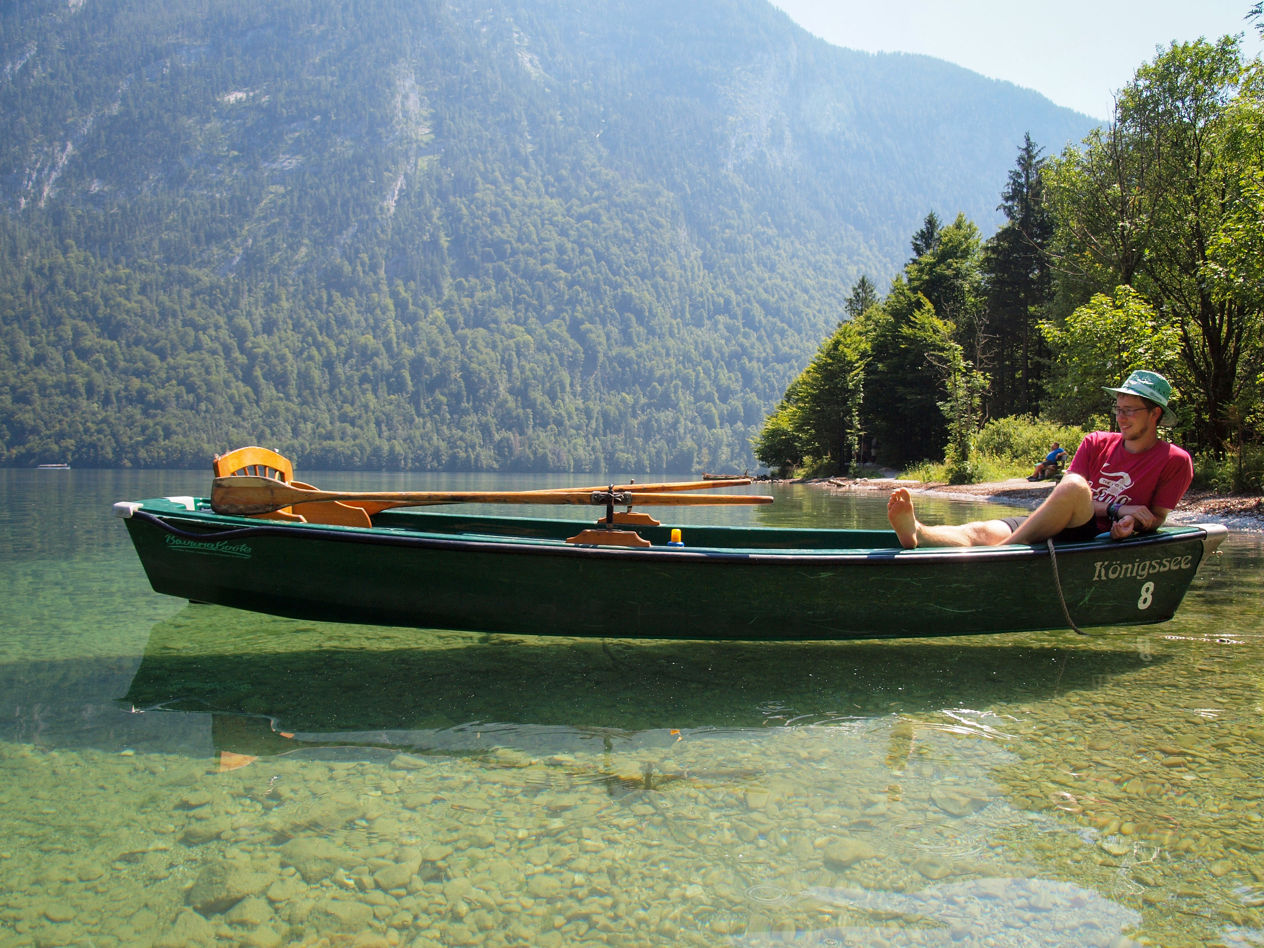 The most crystal water of Germany - Königssee