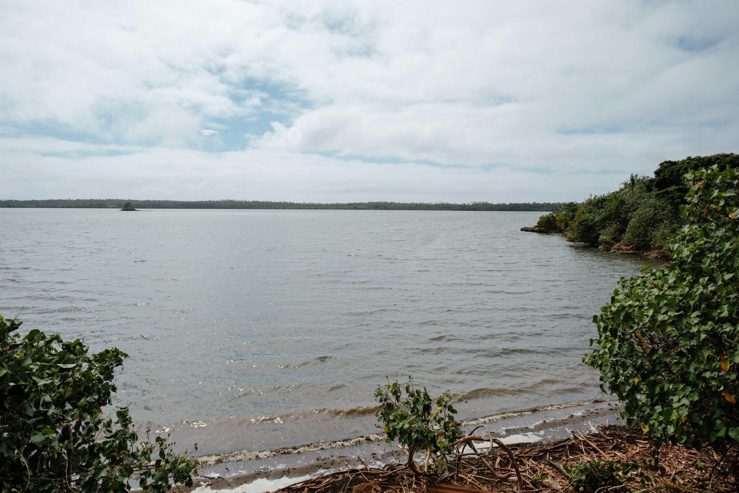 Le lac d'eau salée :)