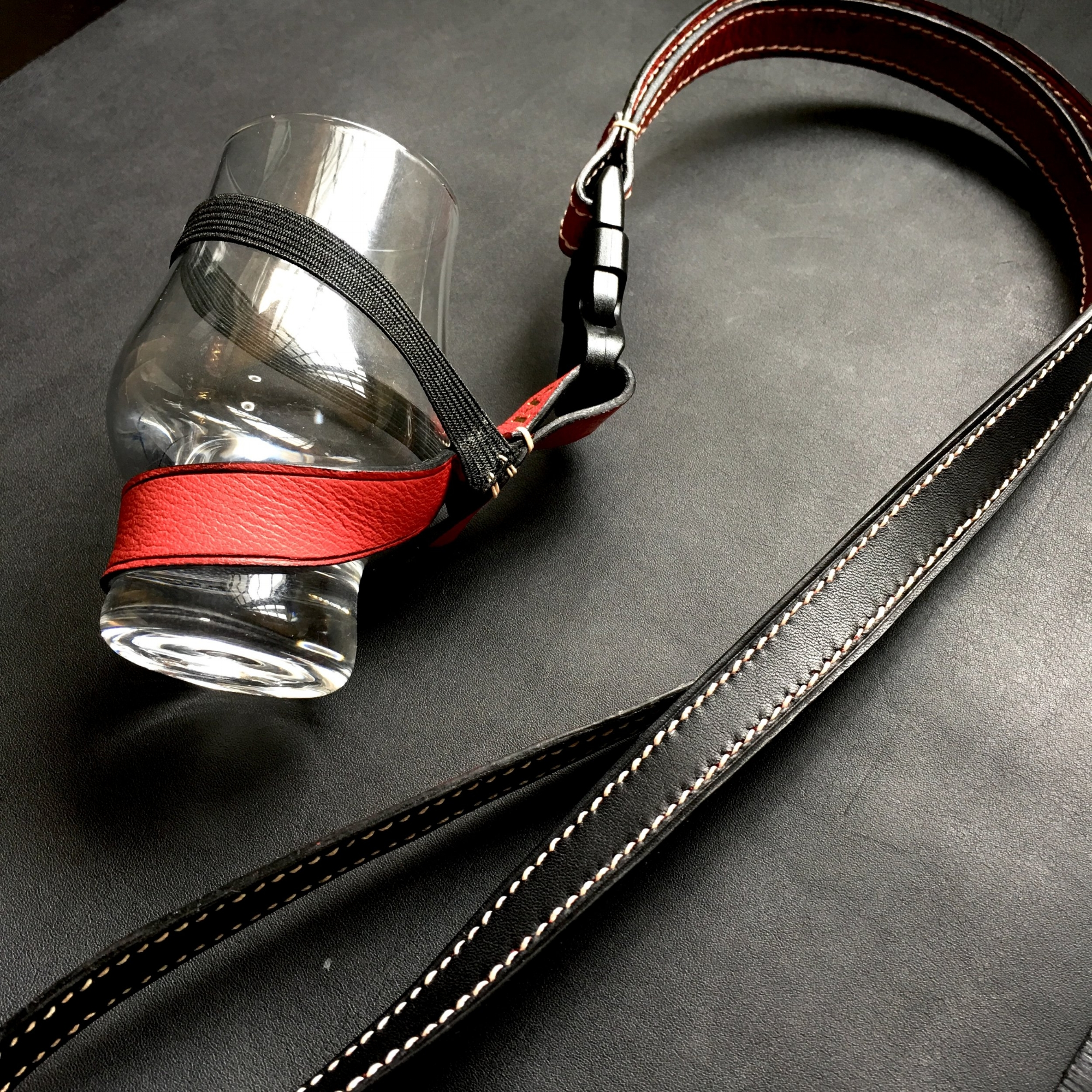 Bespoke Whiskey Glass Lanyard (Initials: J.W)