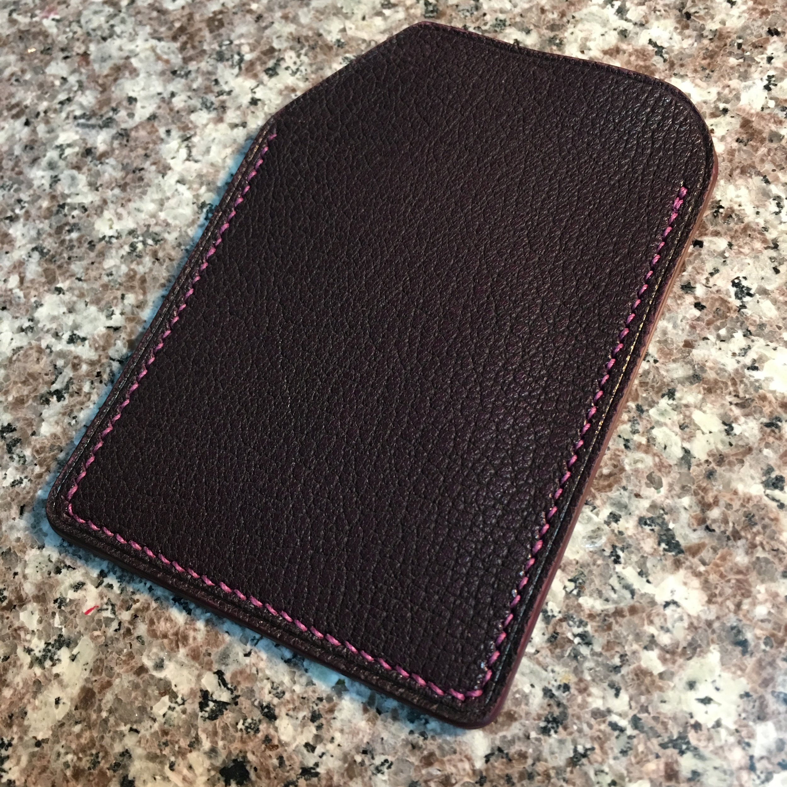 Rose (1 slot Cardholder i chevre)