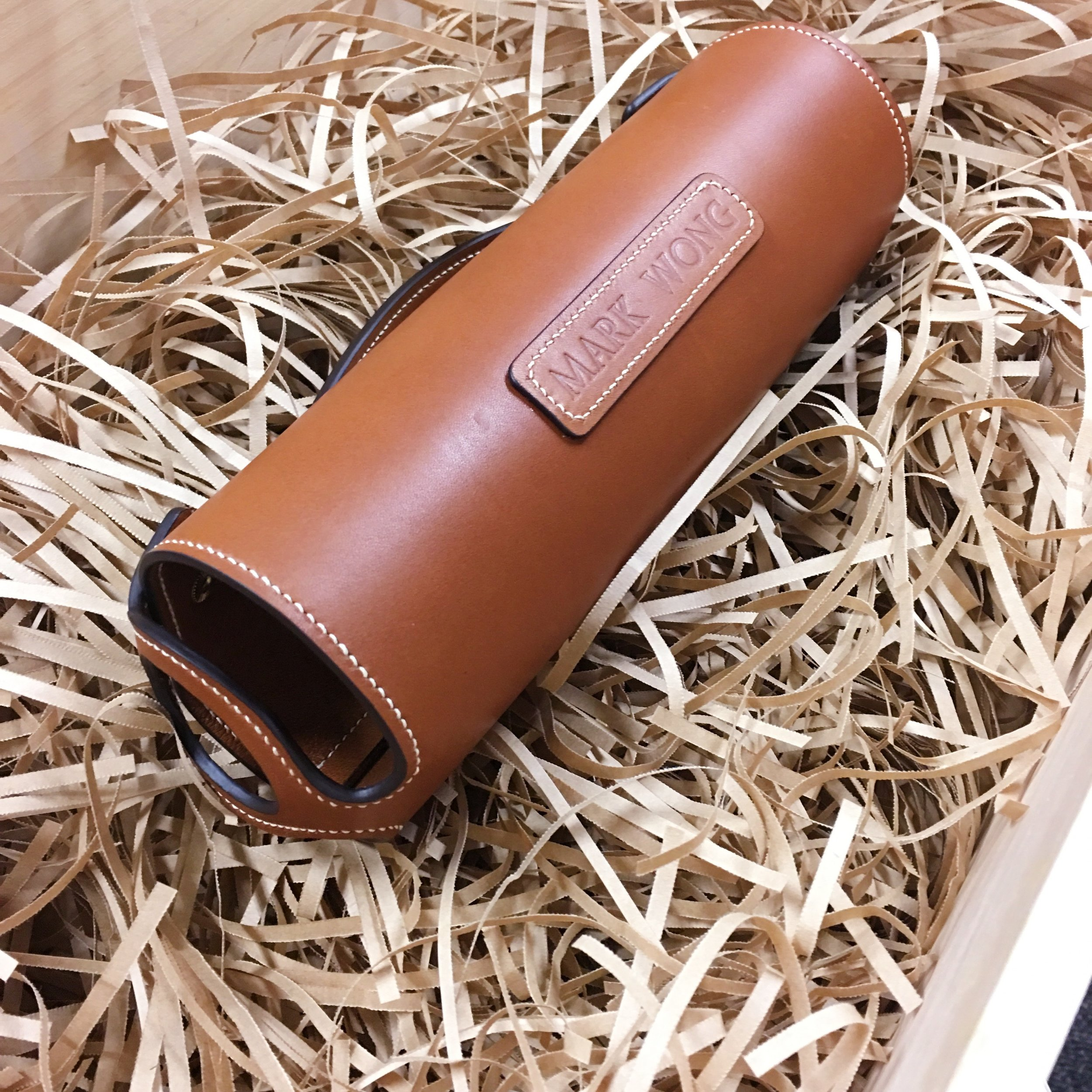 Product made from Barenia leather