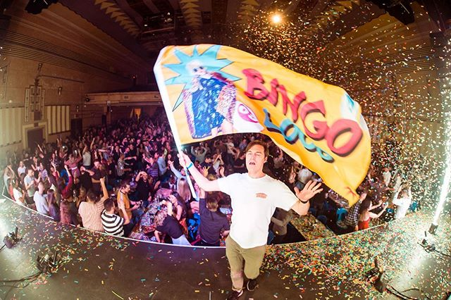 What a night! Bingo Loco. Sold out @enmore_theatre with @aedyson