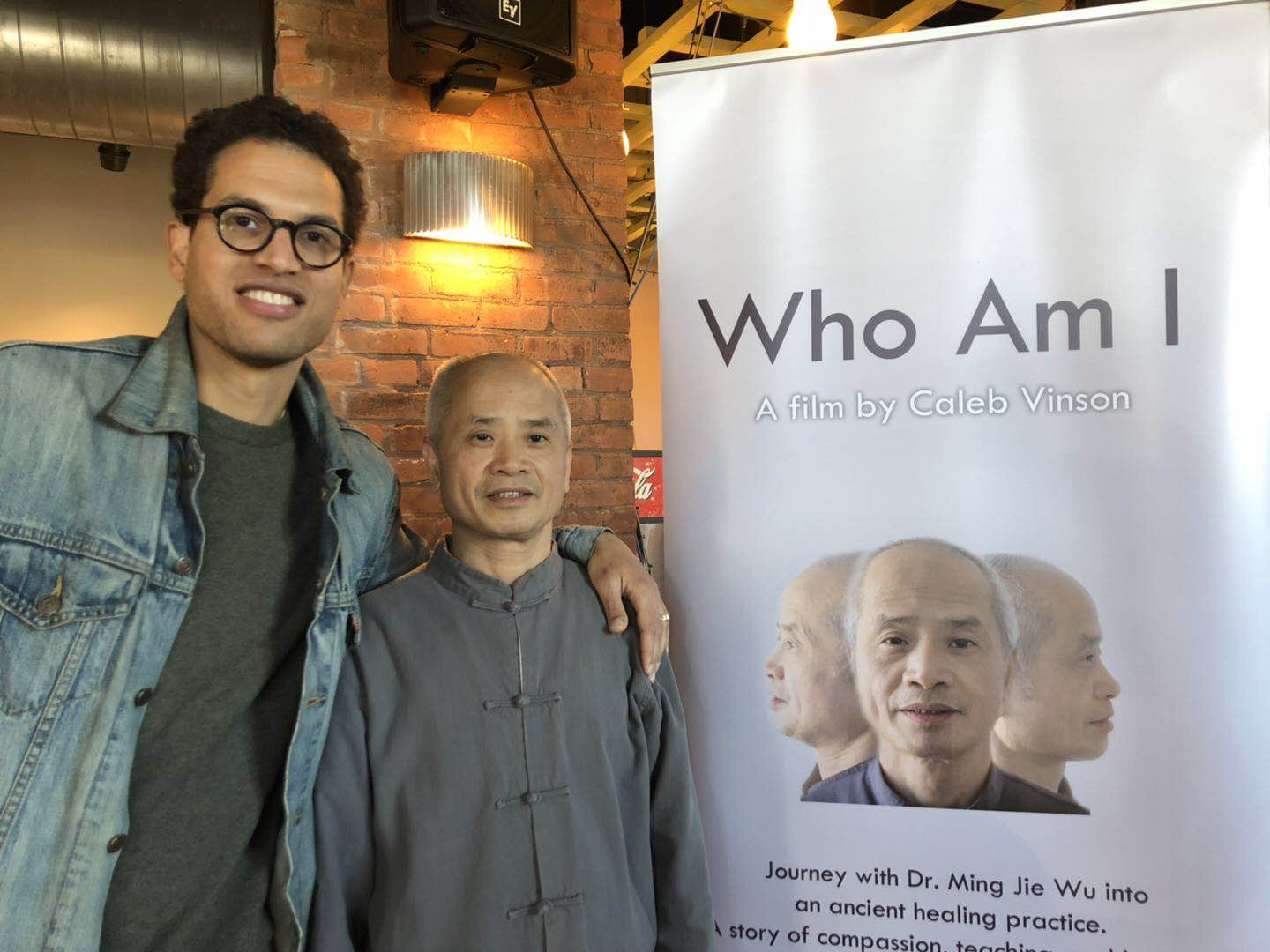 Dr. Ming Wu and Director Kaleb Vinson
