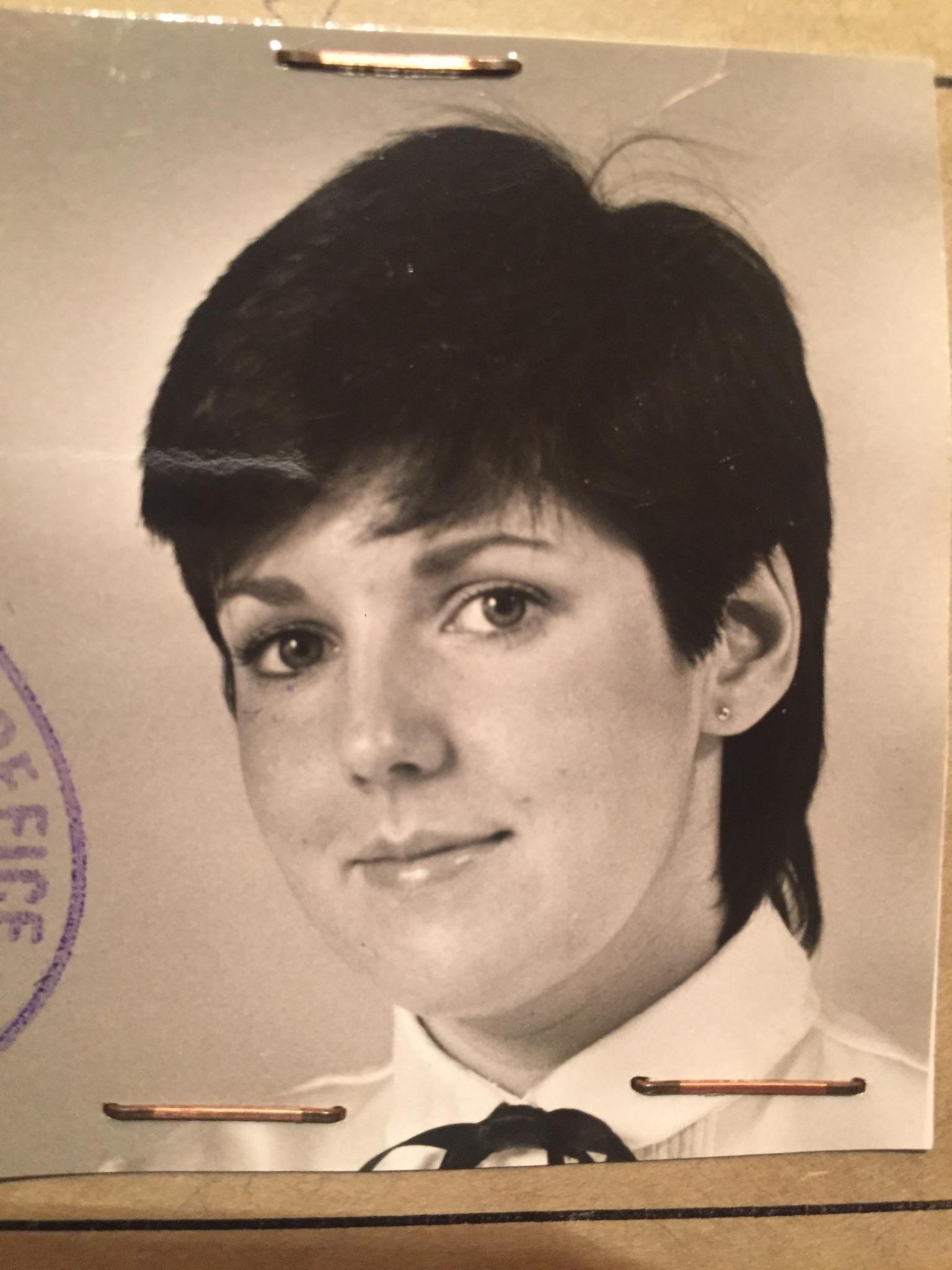 My passport from 1981.