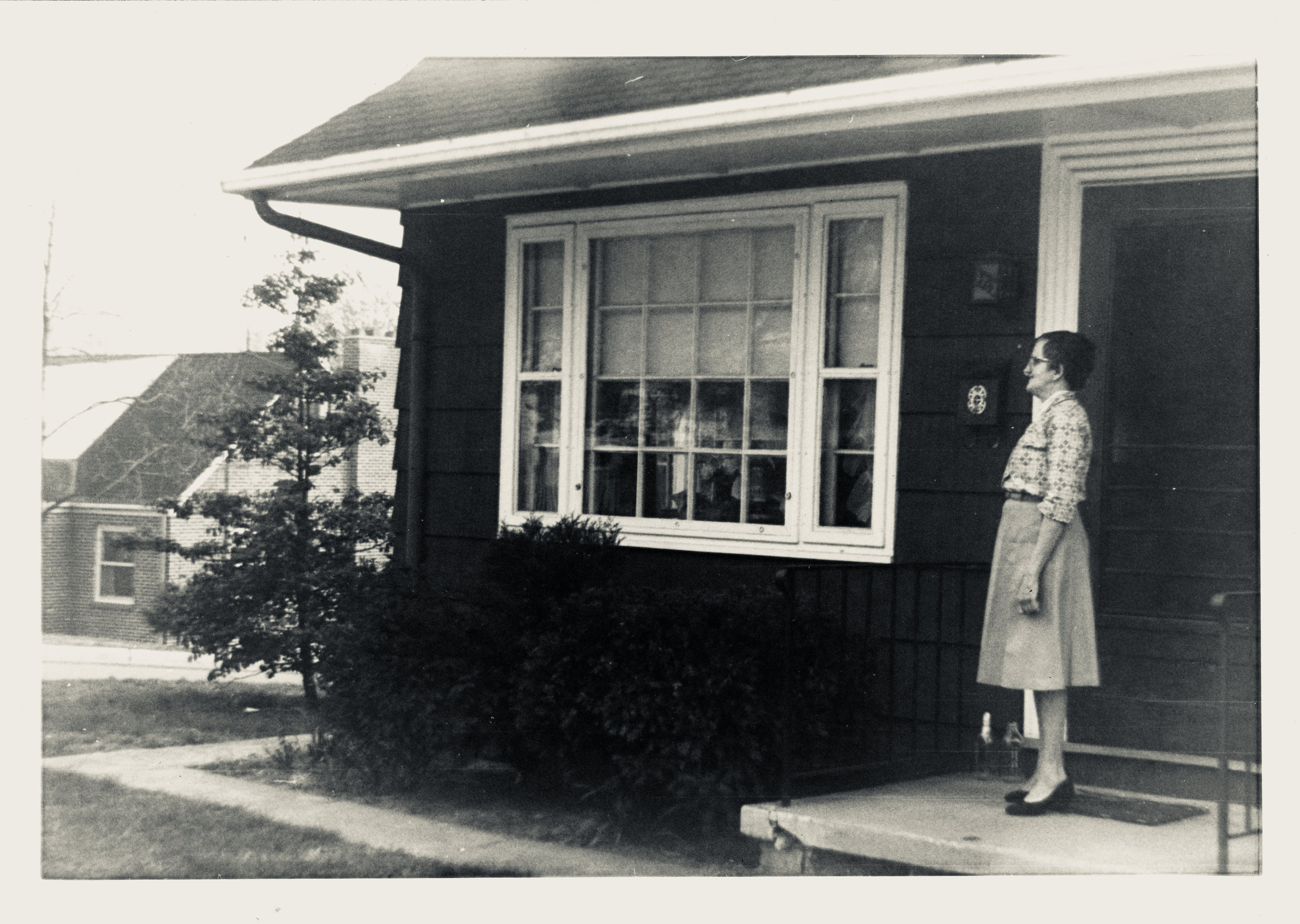 Aunt Agnes in about 1955.