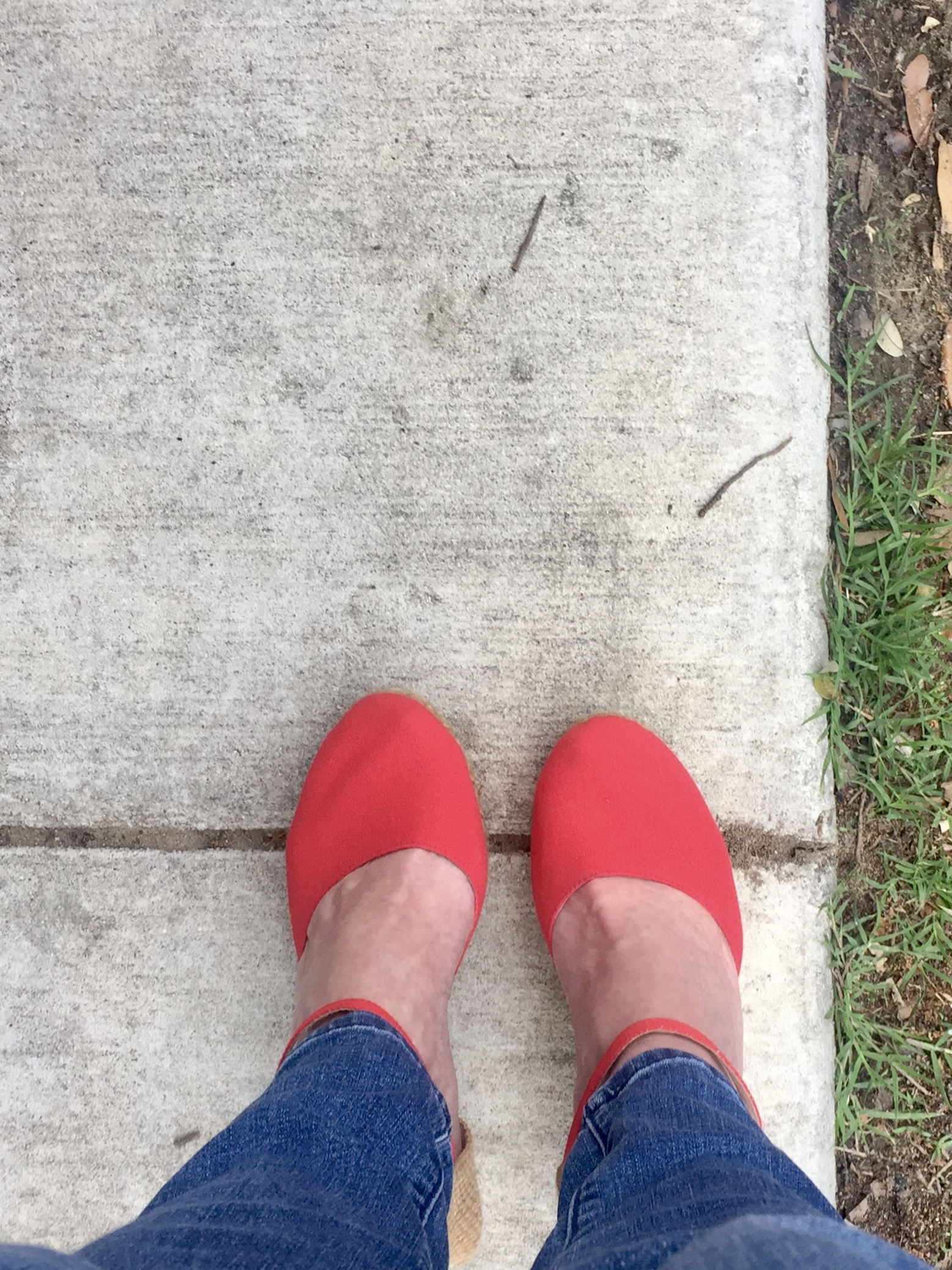 Red shoes  go everywhere, but they like New Orleans the best.  More news from NOLA tomorrow.