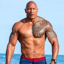 Dwayne Johnson. The Rock.