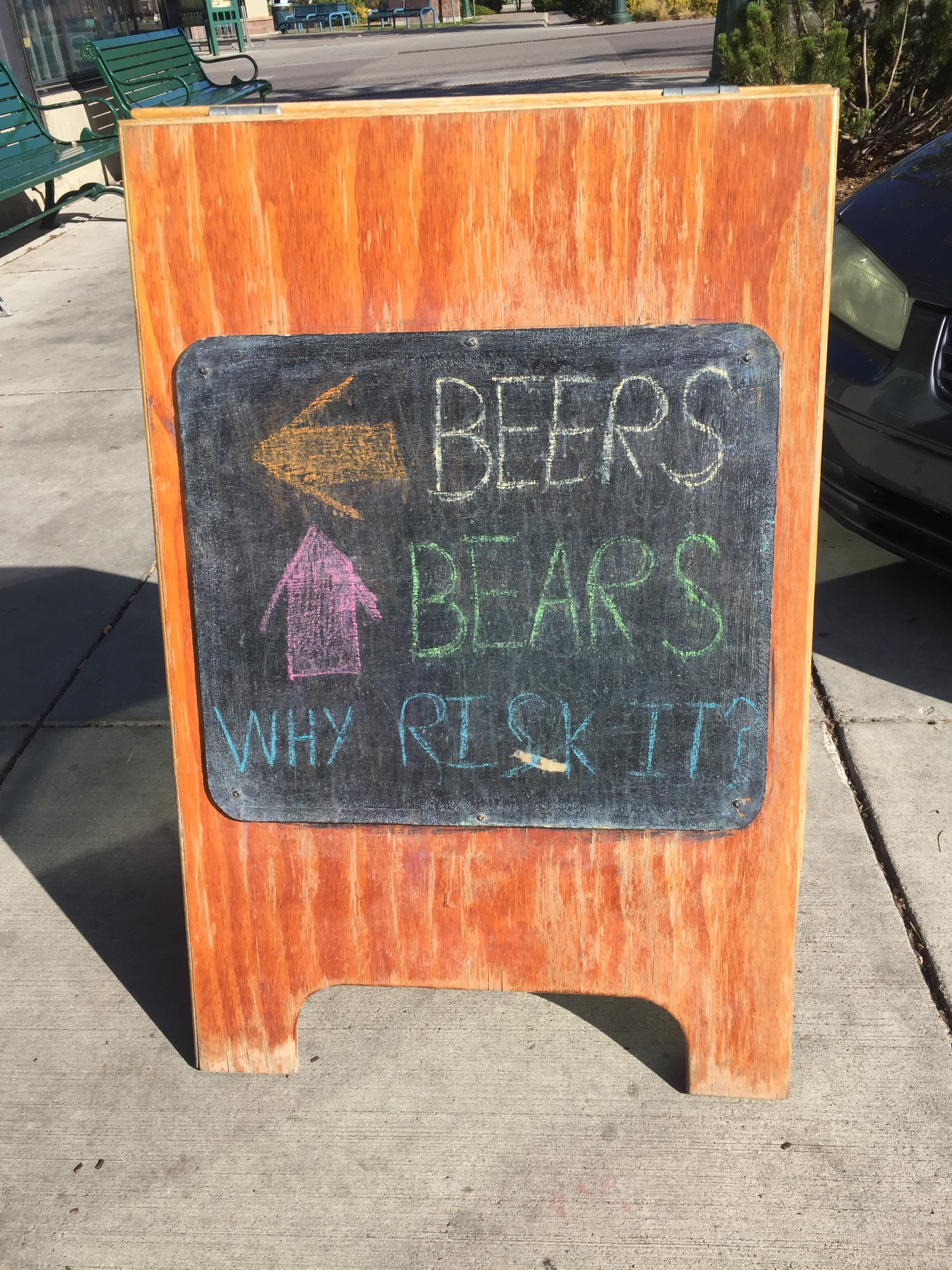 A bar in Whitefish, MT.