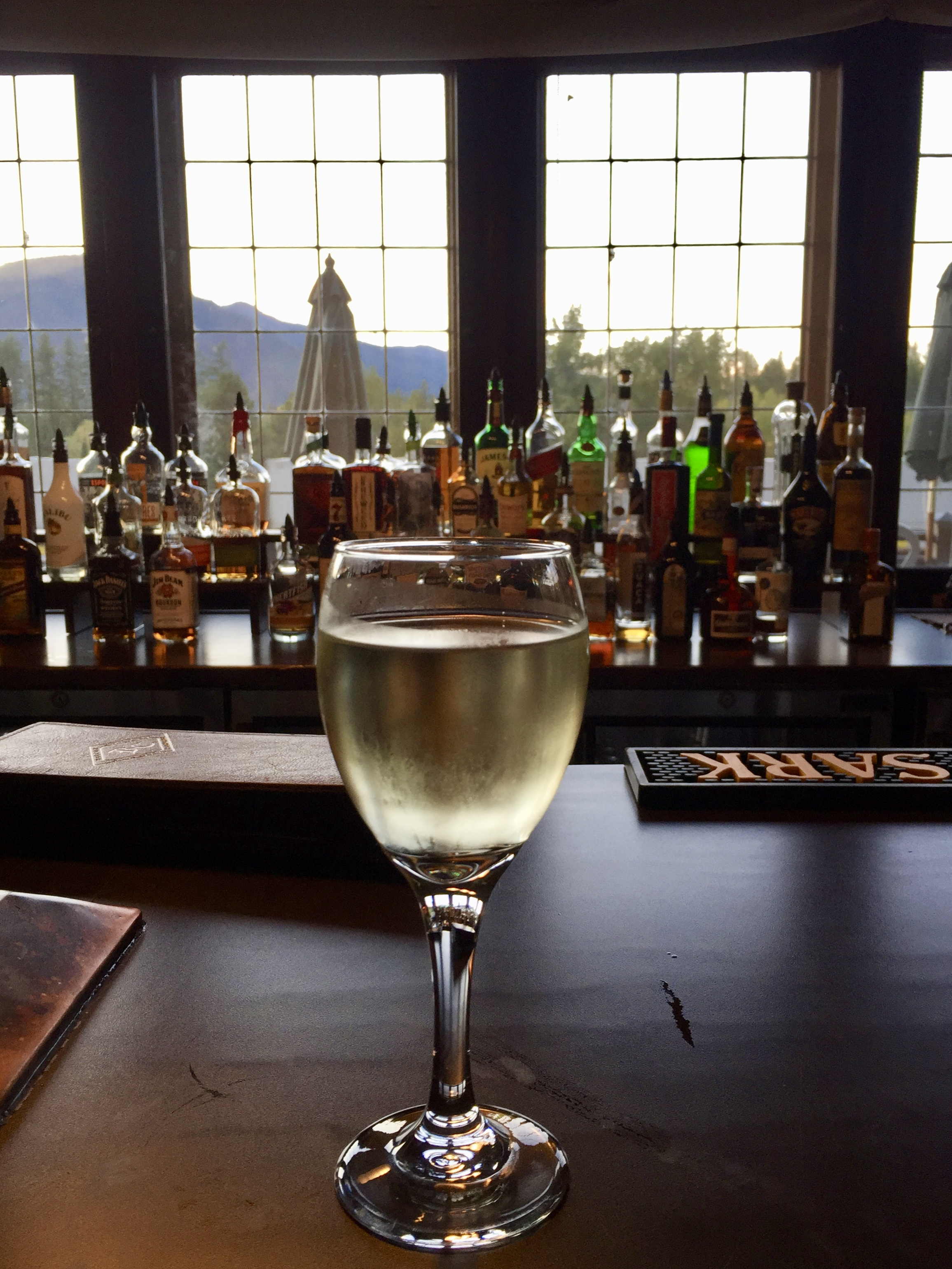 A bar - but not THE bar - in Glacier National Park.