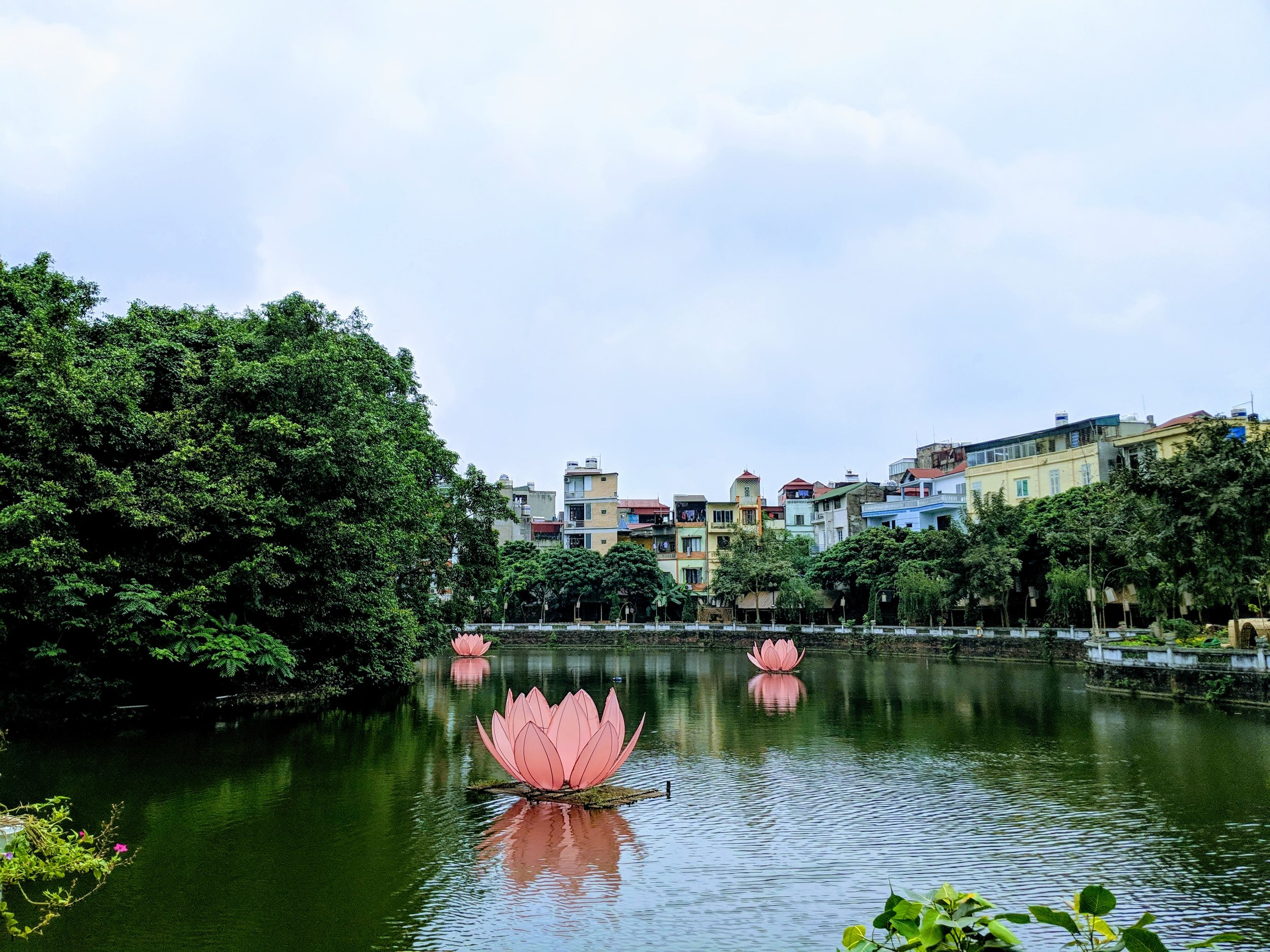 Lake Van. Hanoi.