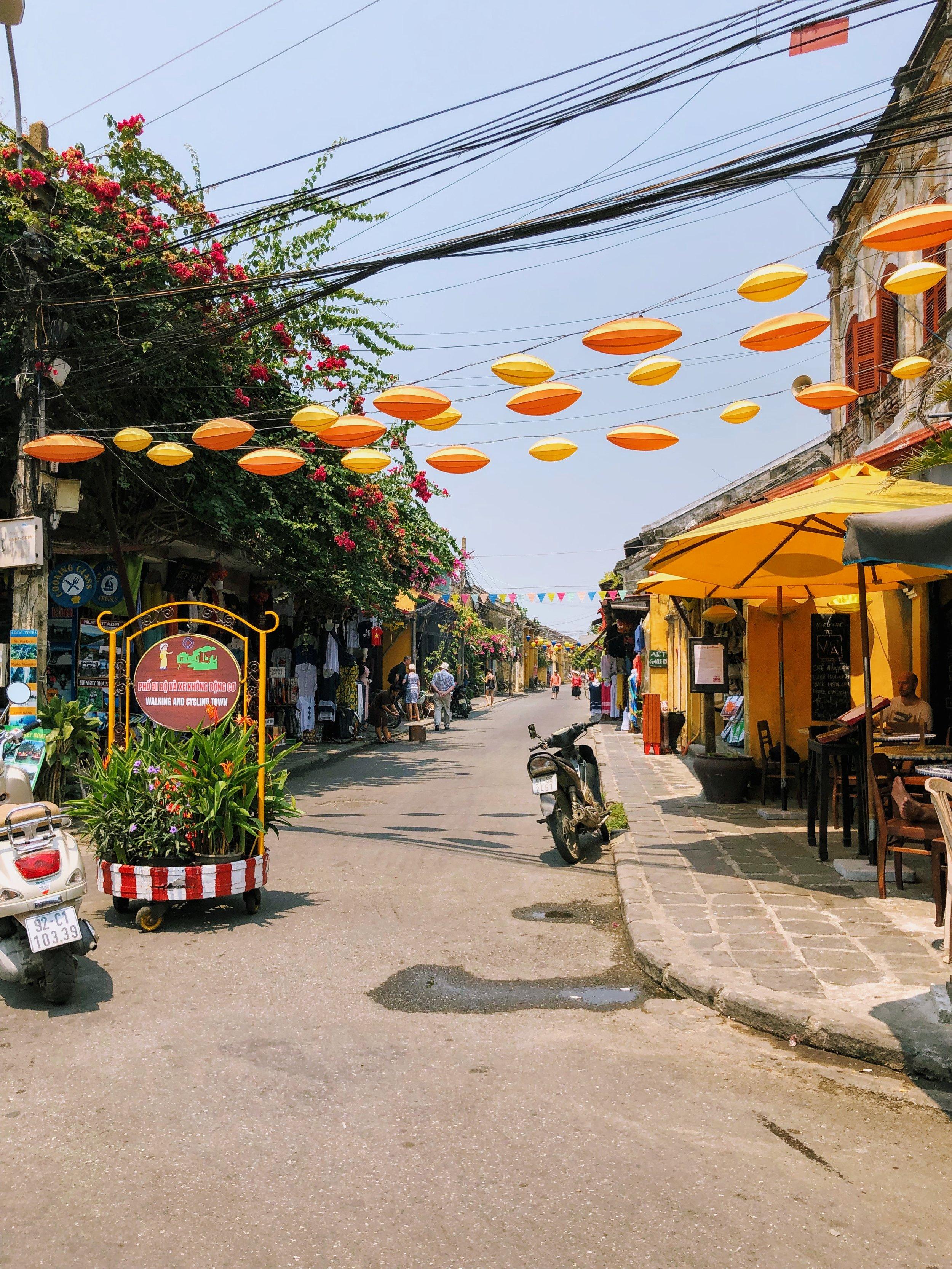 Street scene, Hoi An.
