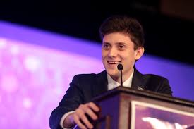 Kyle Kashuv. No longer Harvard-bound despite his 5.345 GPA