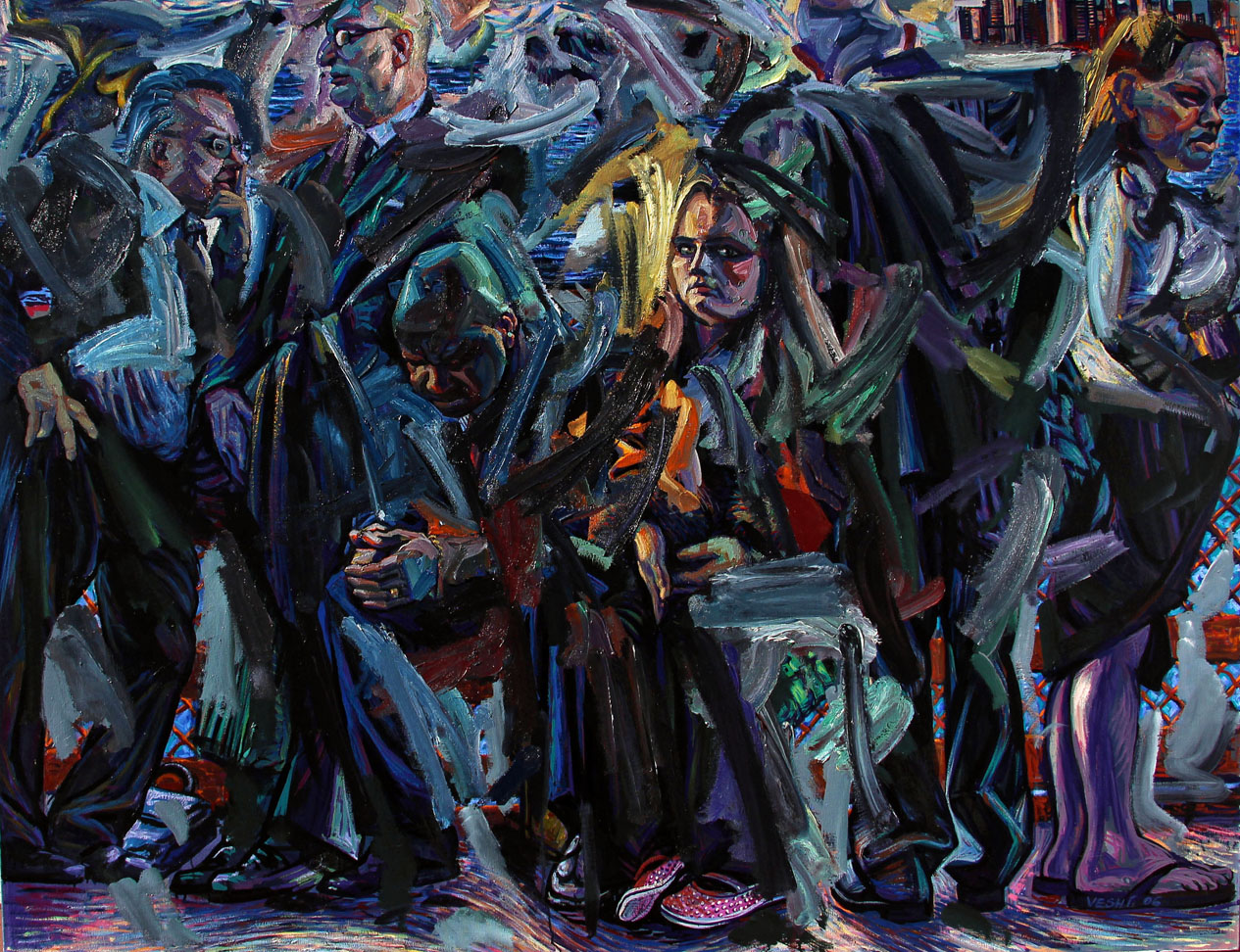 The Castle, 2006. Oil on canvas, 50 inch x 66 inch