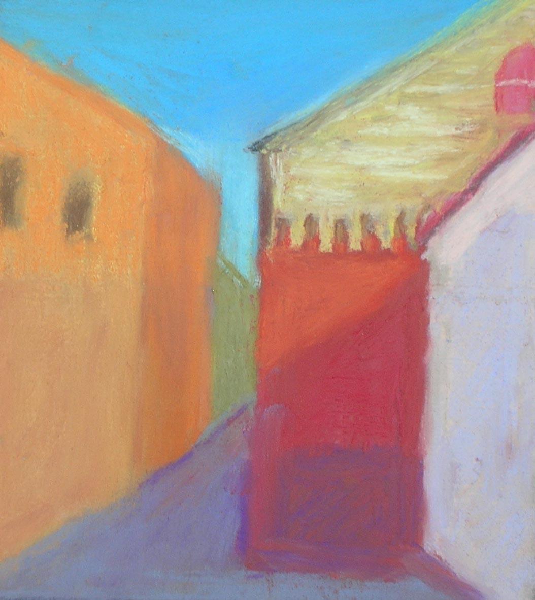 Light in Seville           9 x 9 Framed