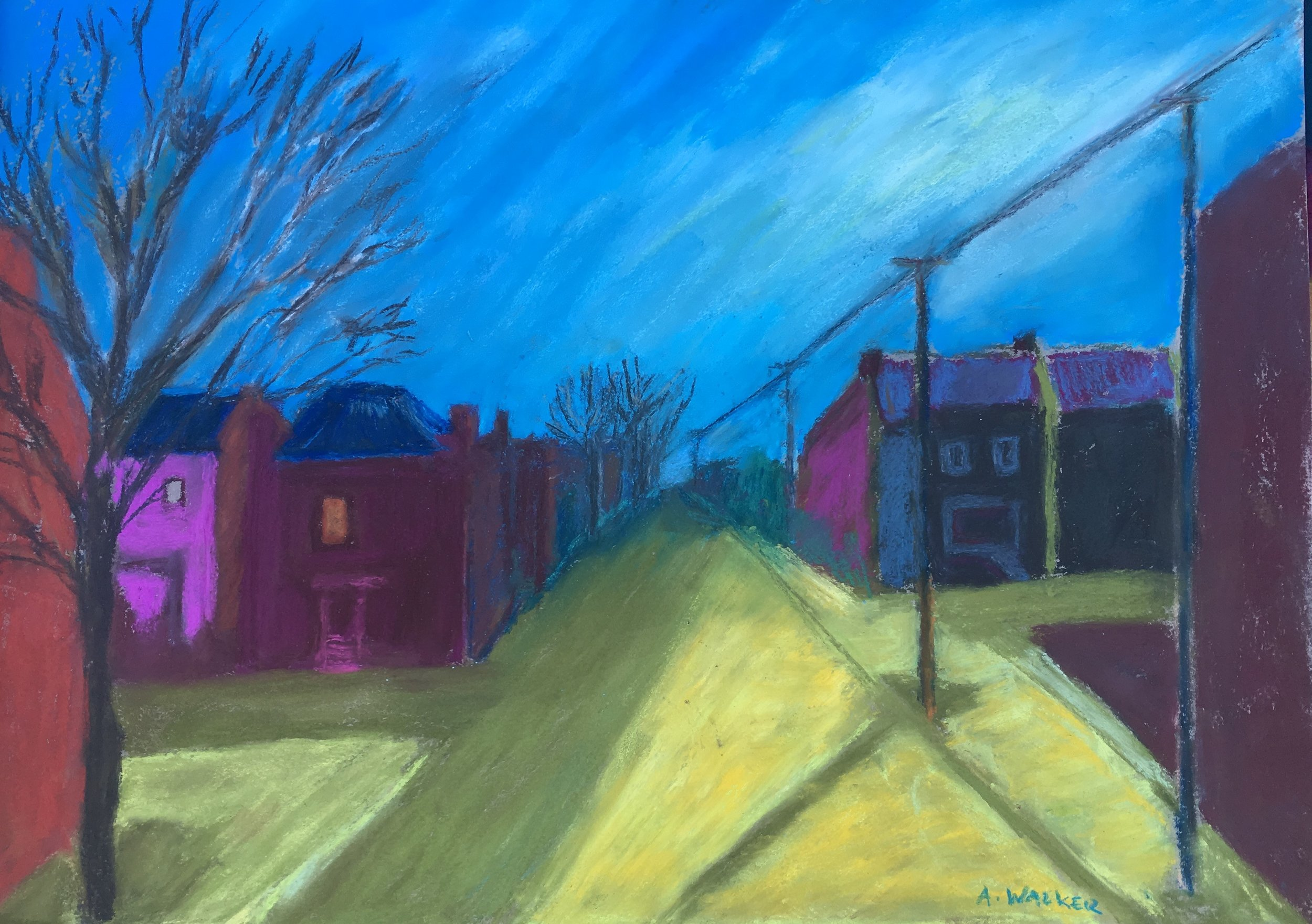 Richmond Blues                            18 x 25 Framed