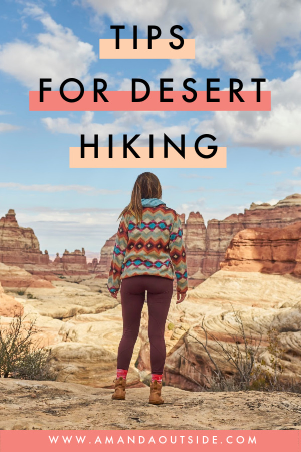 7 Tips for hiking in the desert that you need to know! Click through to learn how to hike prepared and confidently in the desert. #hiking #desert #hikingtips