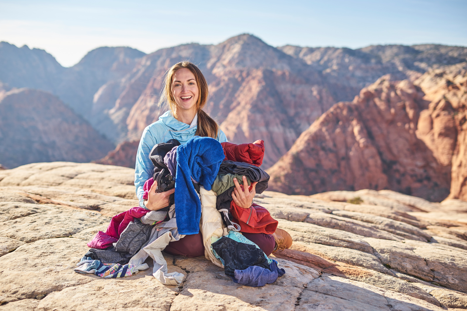 BACKPACKING CLOTHES -