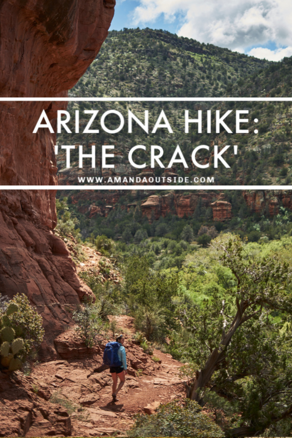One of the great day hikes in Arizona is called 'The Crack'.